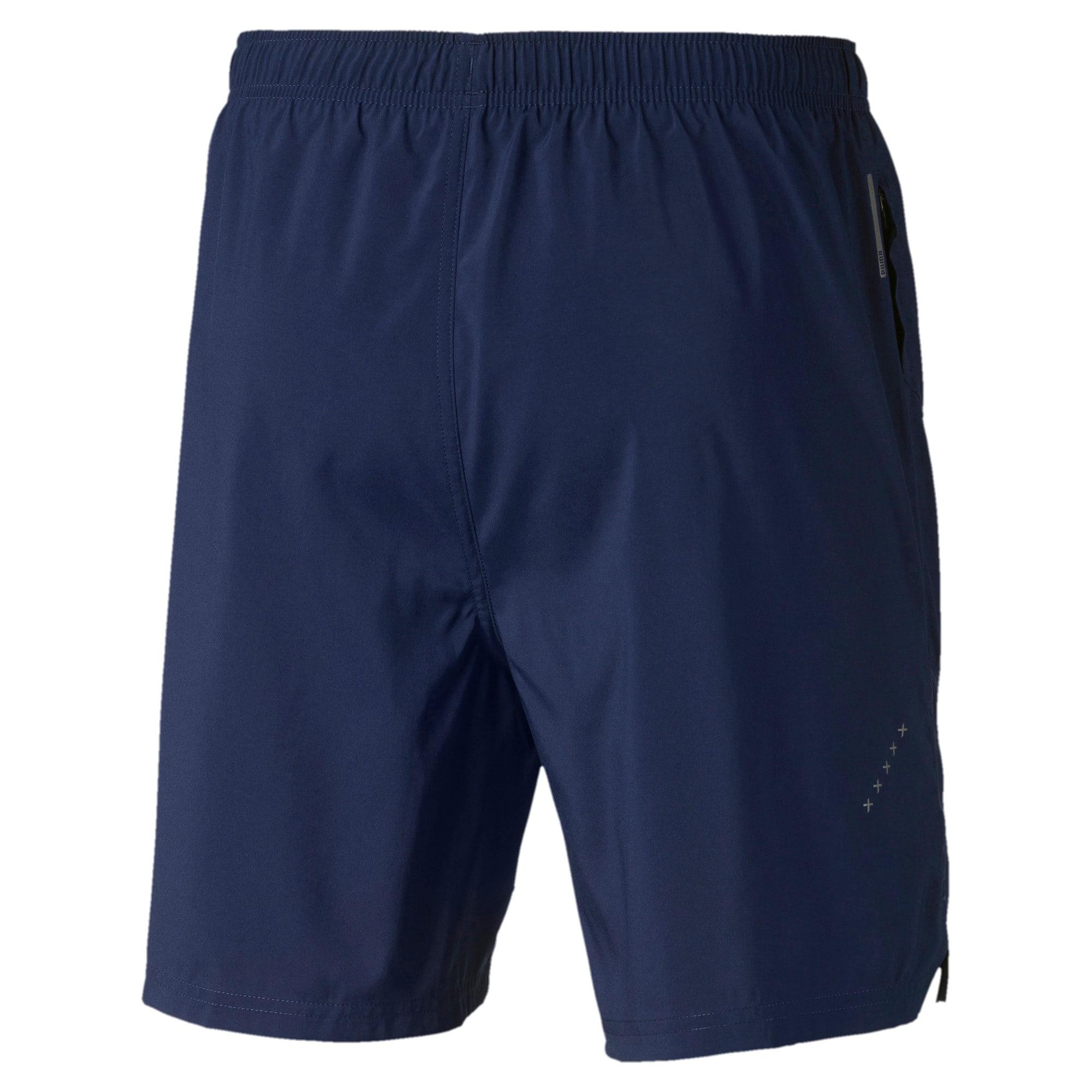 Thumbnail 5 of IGNITE Woven Men's Training Shorts, Peacoat, medium