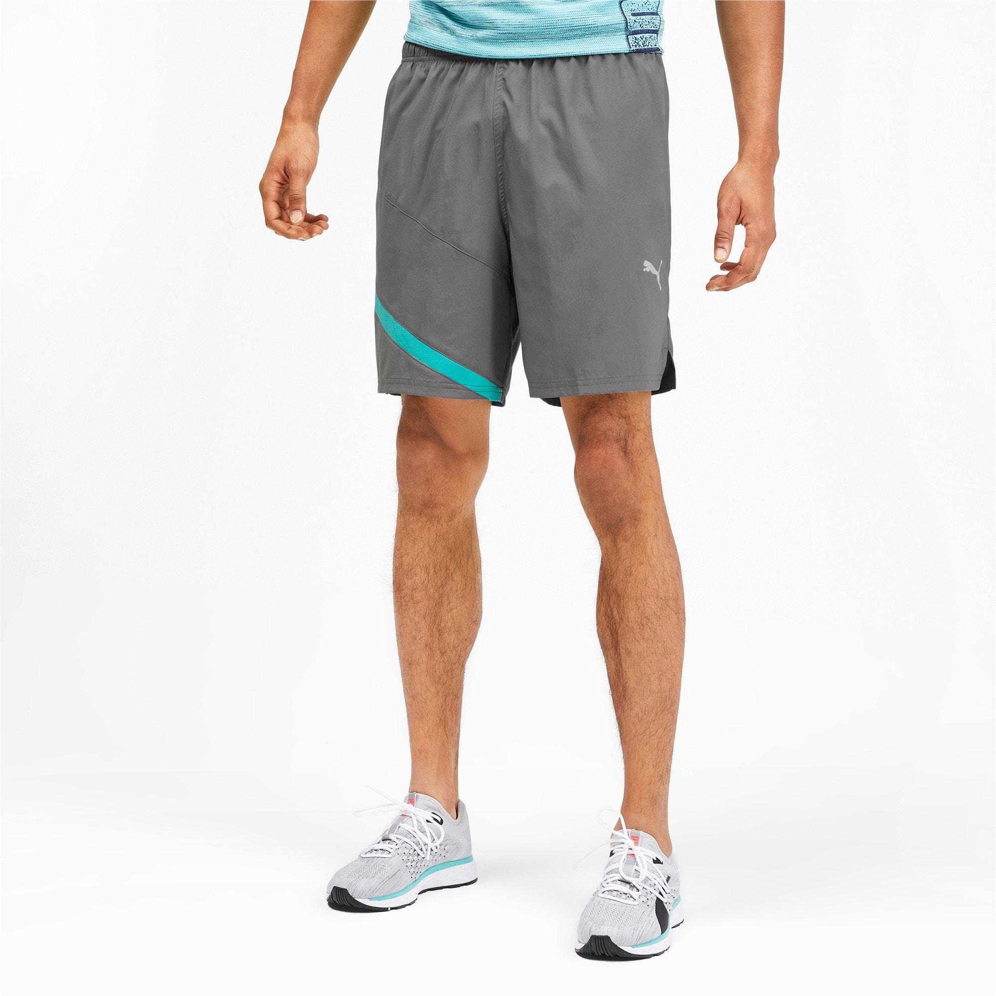 "Thumbnail 1 of Ignite Blocked Men's 7"" Shorts, CASTLEROCK-Blue Turquoise, medium"