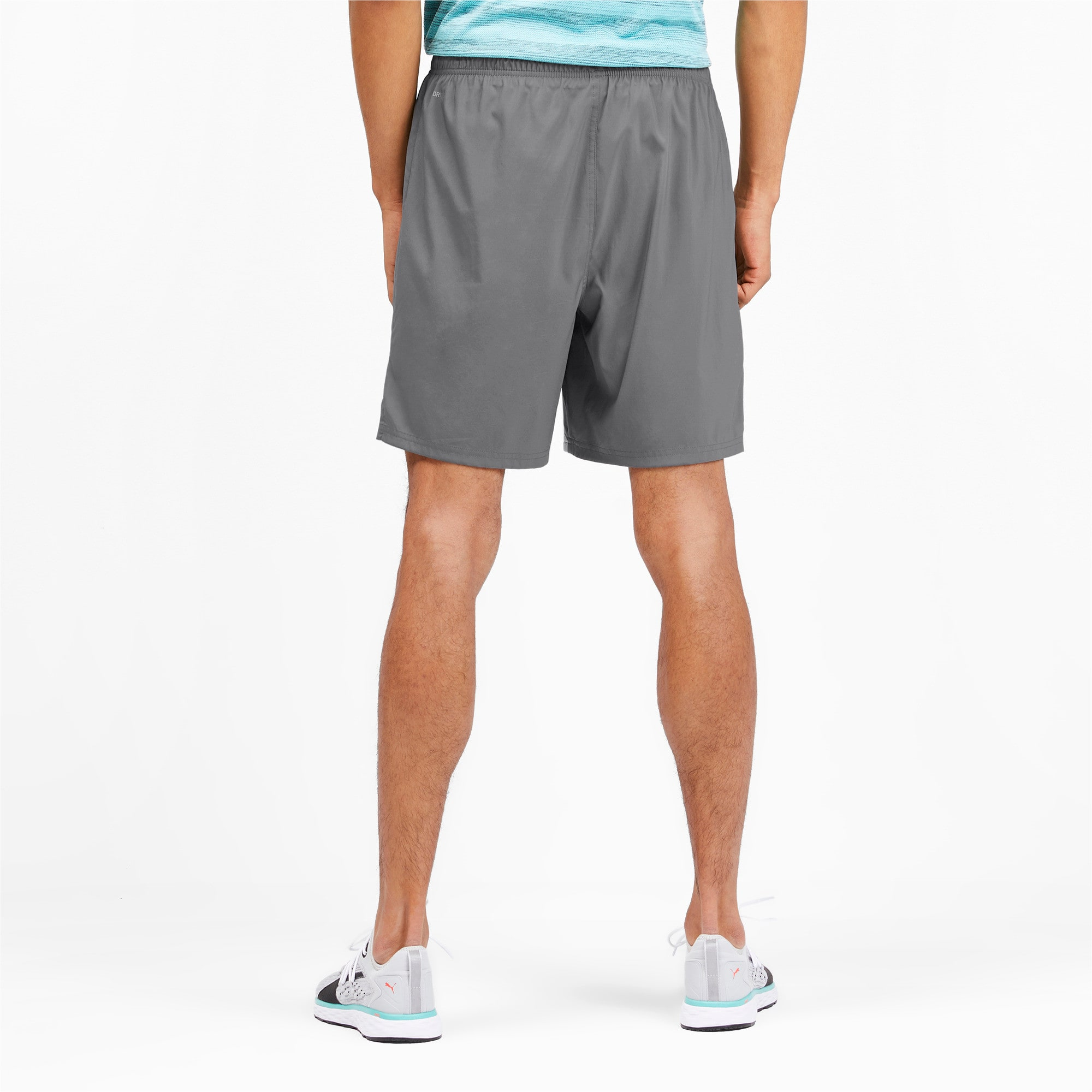 "Thumbnail 2 of Ignite Blocked Men's 7"" Shorts, CASTLEROCK-Blue Turquoise, medium"