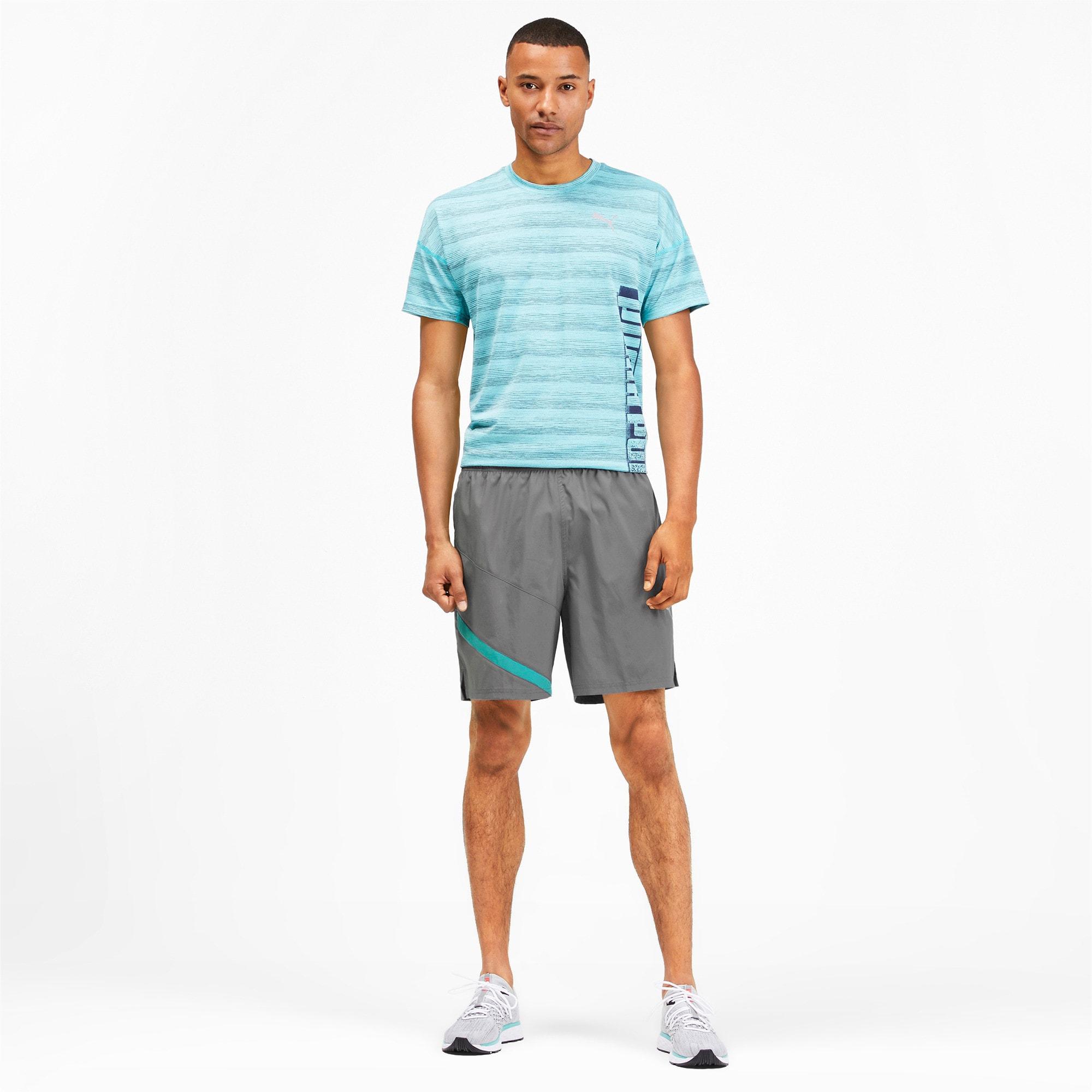 "Thumbnail 3 of Ignite Blocked Men's 7"" Shorts, CASTLEROCK-Blue Turquoise, medium"
