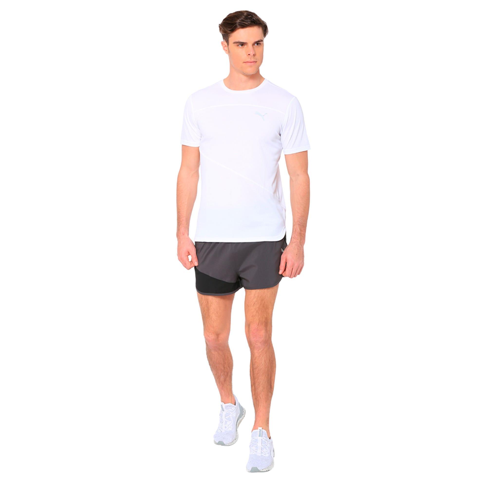 Thumbnail 3 of IGNITE Men's Running Split Shorts, Puma Black-Asphalt, medium-IND