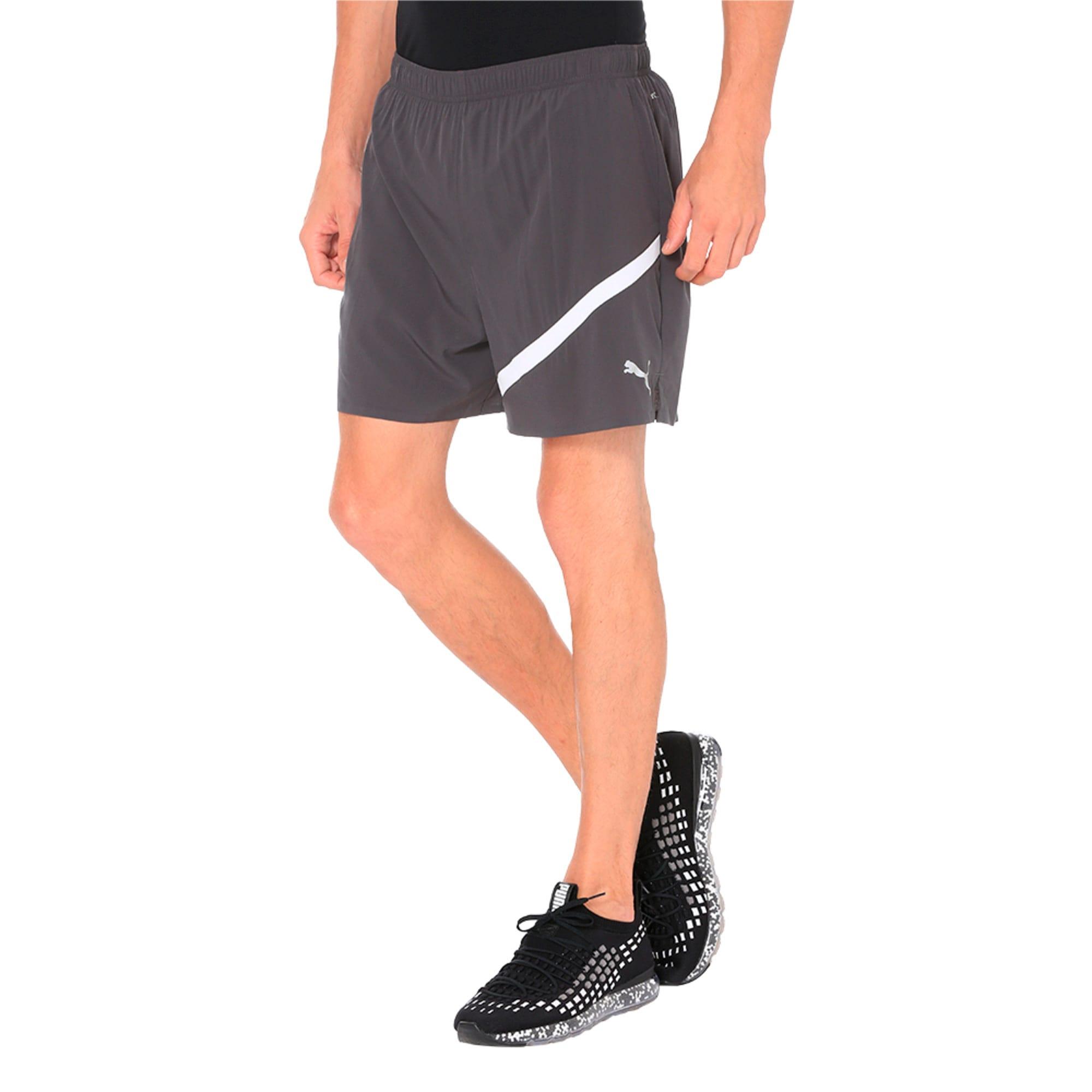 """Thumbnail 1 of Pace 5"""" Men's Running Shorts, Asphalt, medium-IND"""