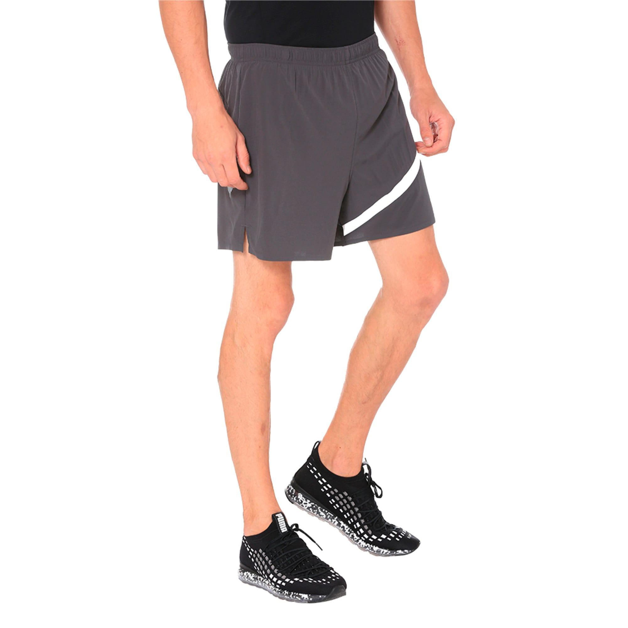 """Thumbnail 2 of Pace 5"""" Men's Running Shorts, Asphalt, medium-IND"""