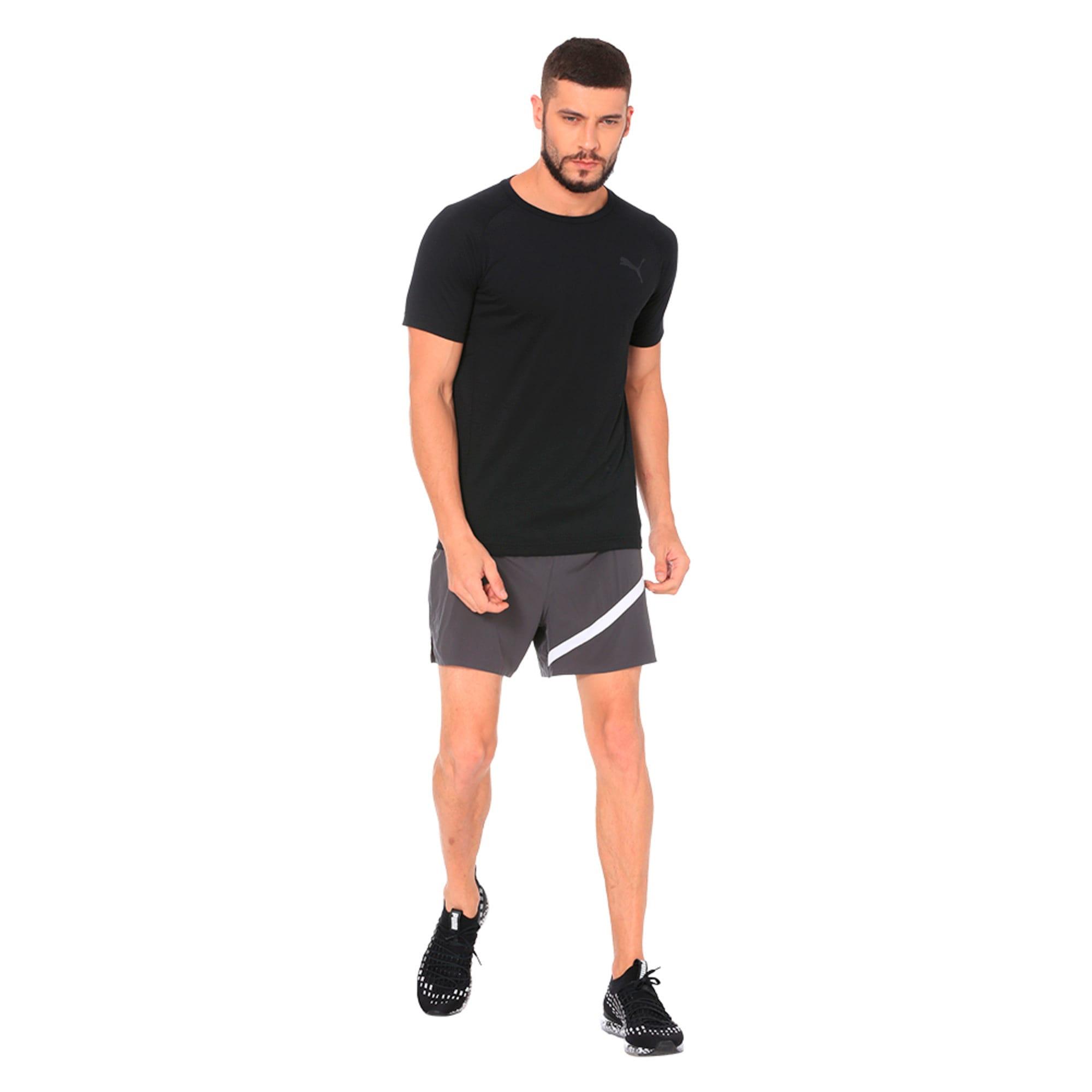 """Thumbnail 3 of Pace 5"""" Men's Running Shorts, Asphalt, medium-IND"""