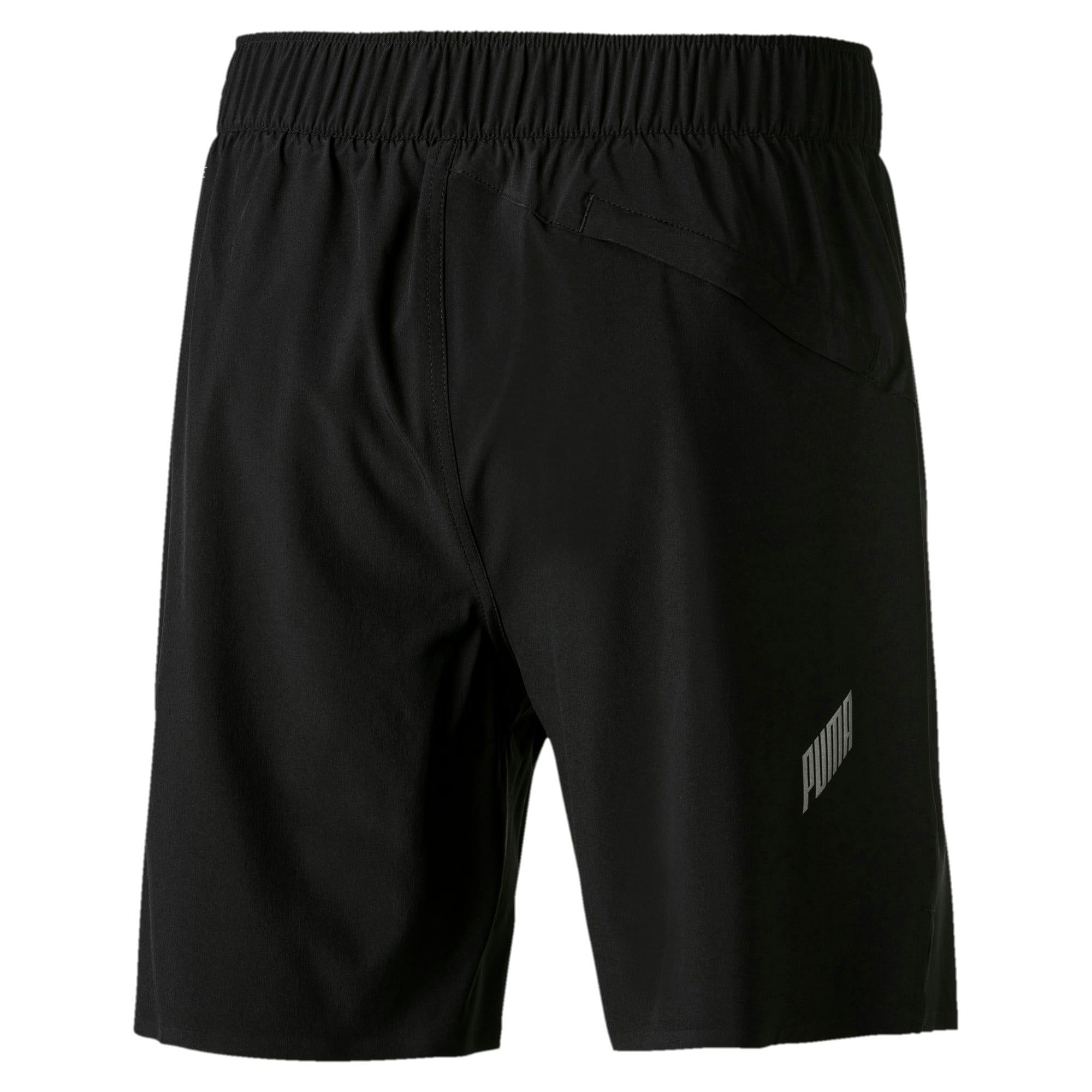 """Thumbnail 6 of Pace 7"""" 2 in 1 Men's Running Shorts, Puma Black-Medium Gry Hthr, medium-IND"""