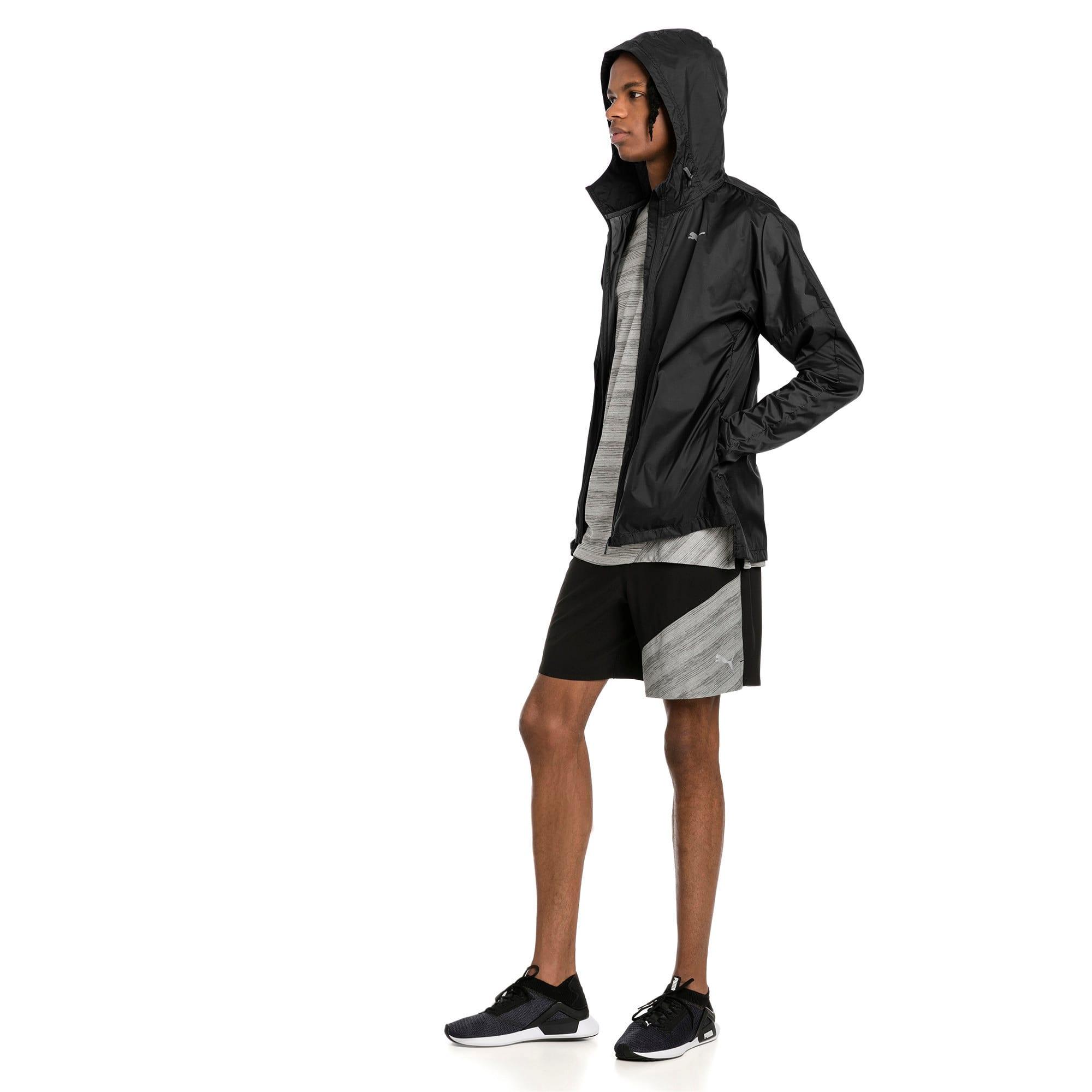 """Thumbnail 3 of Pace 7"""" 2 in 1 Men's Running Shorts, Puma Black-Medium Gry Hthr, medium-IND"""
