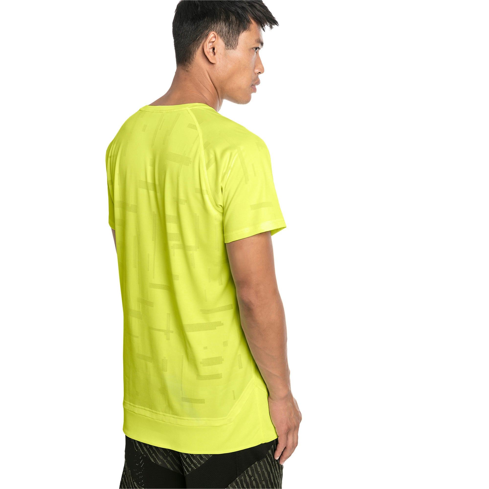 Thumbnail 2 of Energy Short Sleeve Tech Men's Training Tee, Fizzy Yellow, medium