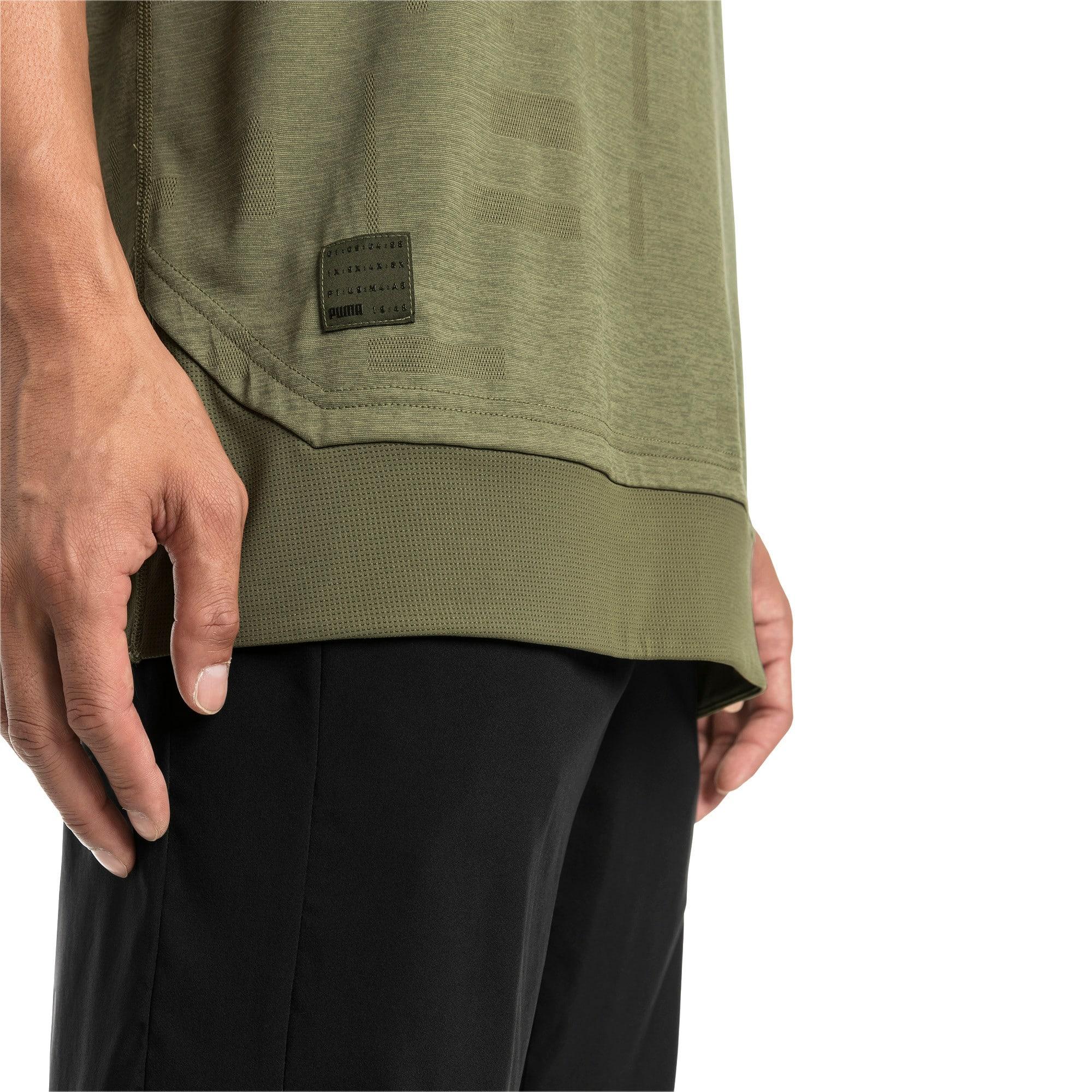 Thumbnail 4 of Energy Short Sleeve Tech Men's Training Tee, Olivine, medium