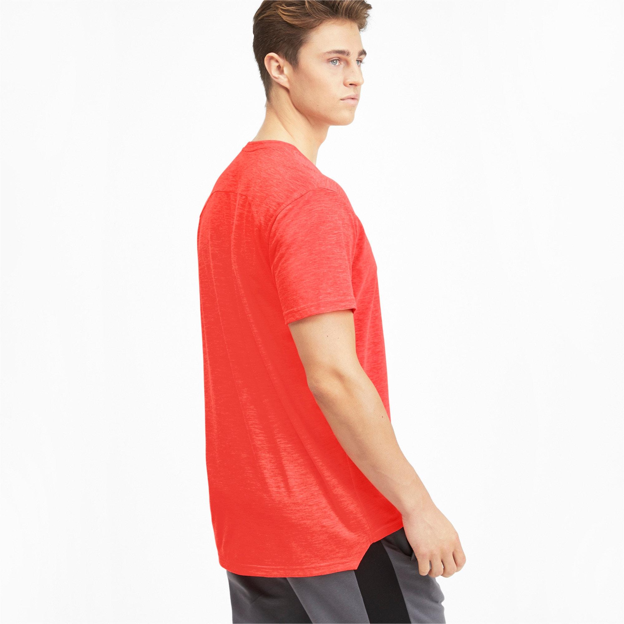 Thumbnail 2 of Energy Herren Training T-Shirt, Nrgy Red Heather, medium