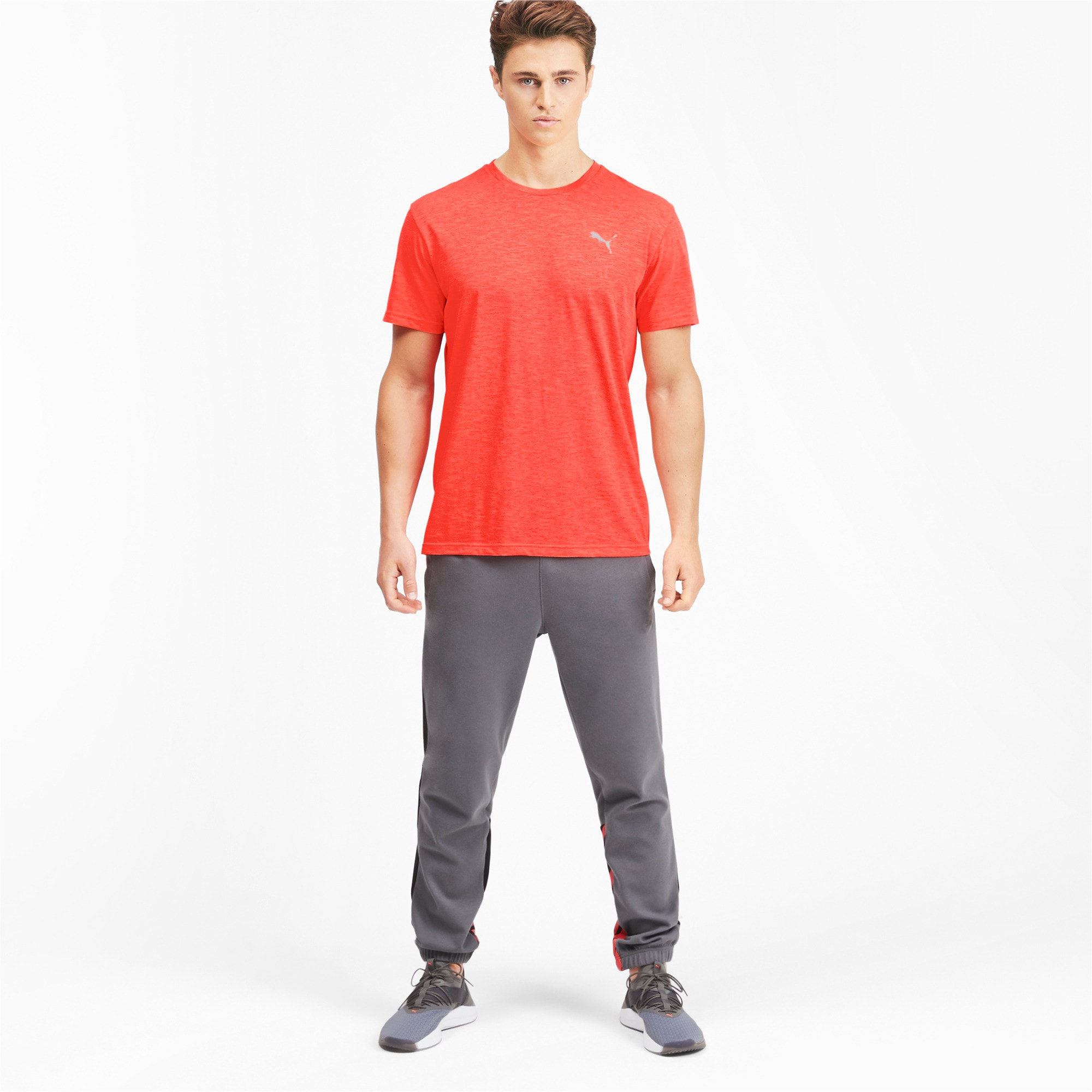 Thumbnail 3 of Energy Herren Training T-Shirt, Nrgy Red Heather, medium