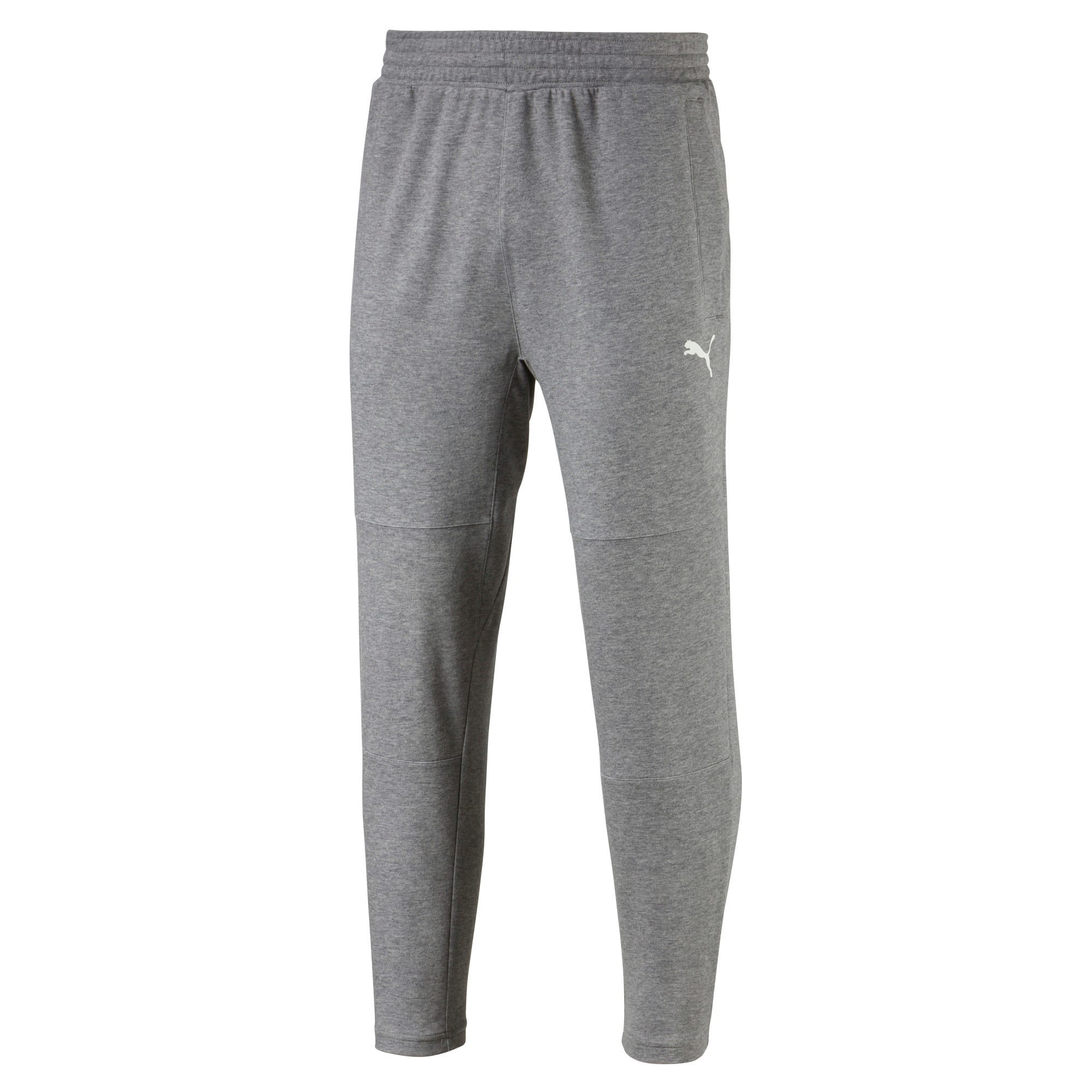 Thumbnail 4 of Knitted Men's Training Pants, Charcoal Gray Heather, medium-IND