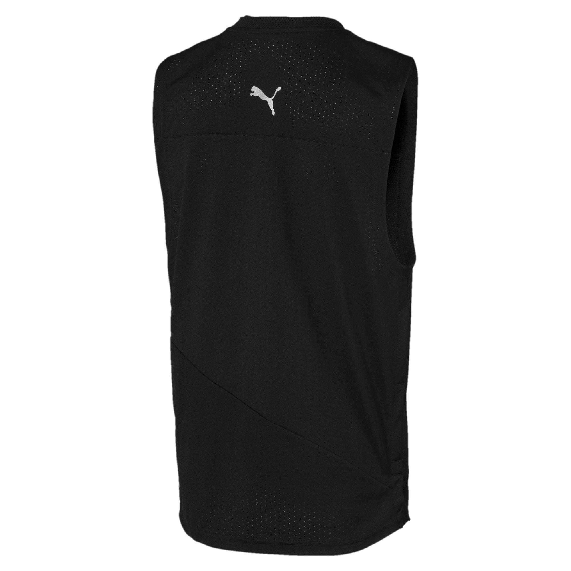 Miniatura 3 de Camiseta sin mangas A.C.E. para hombre, Puma Black, mediano