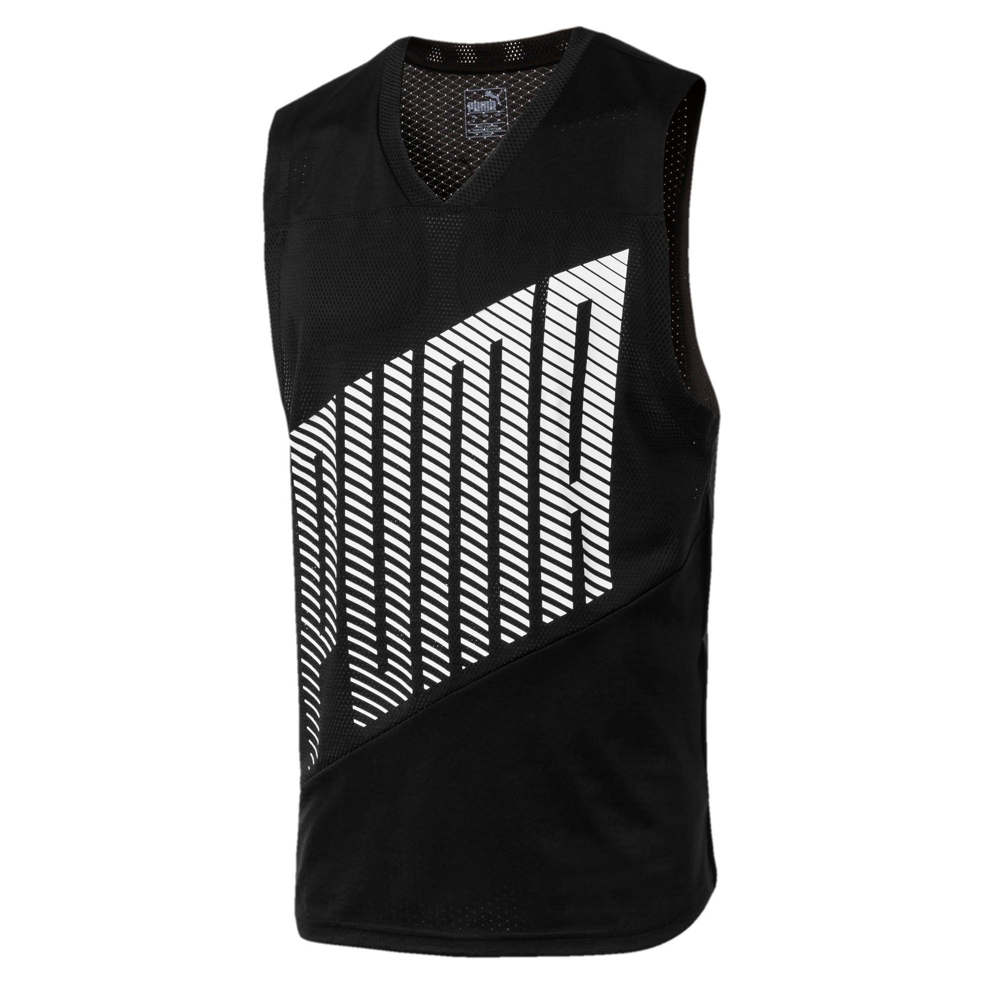 Miniatura 2 de Camiseta sin mangas A.C.E. para hombre, Puma Black, mediano