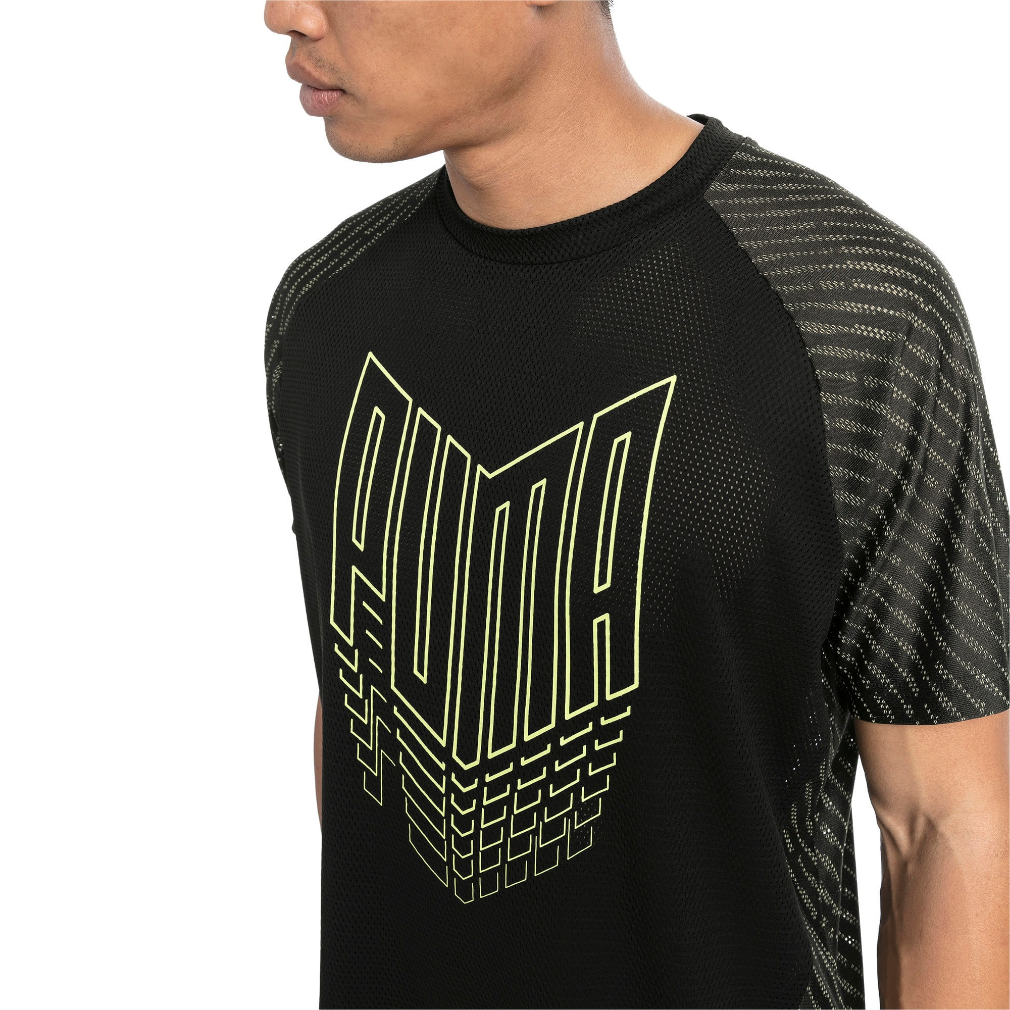 Thumbnail 1 of VENT Men's Training Tee, Puma Black, medium