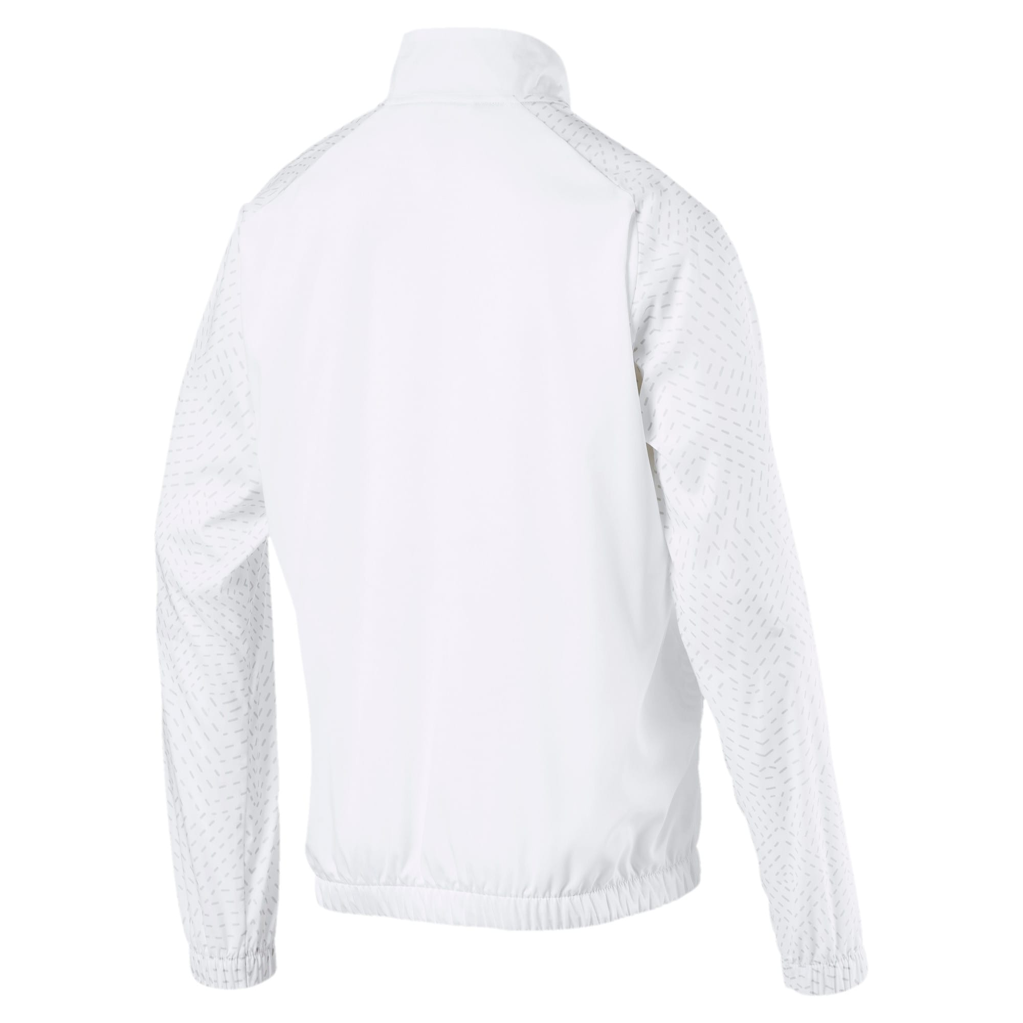Thumbnail 2 of Energy Woven Herren Sweatjacke, Puma White, medium