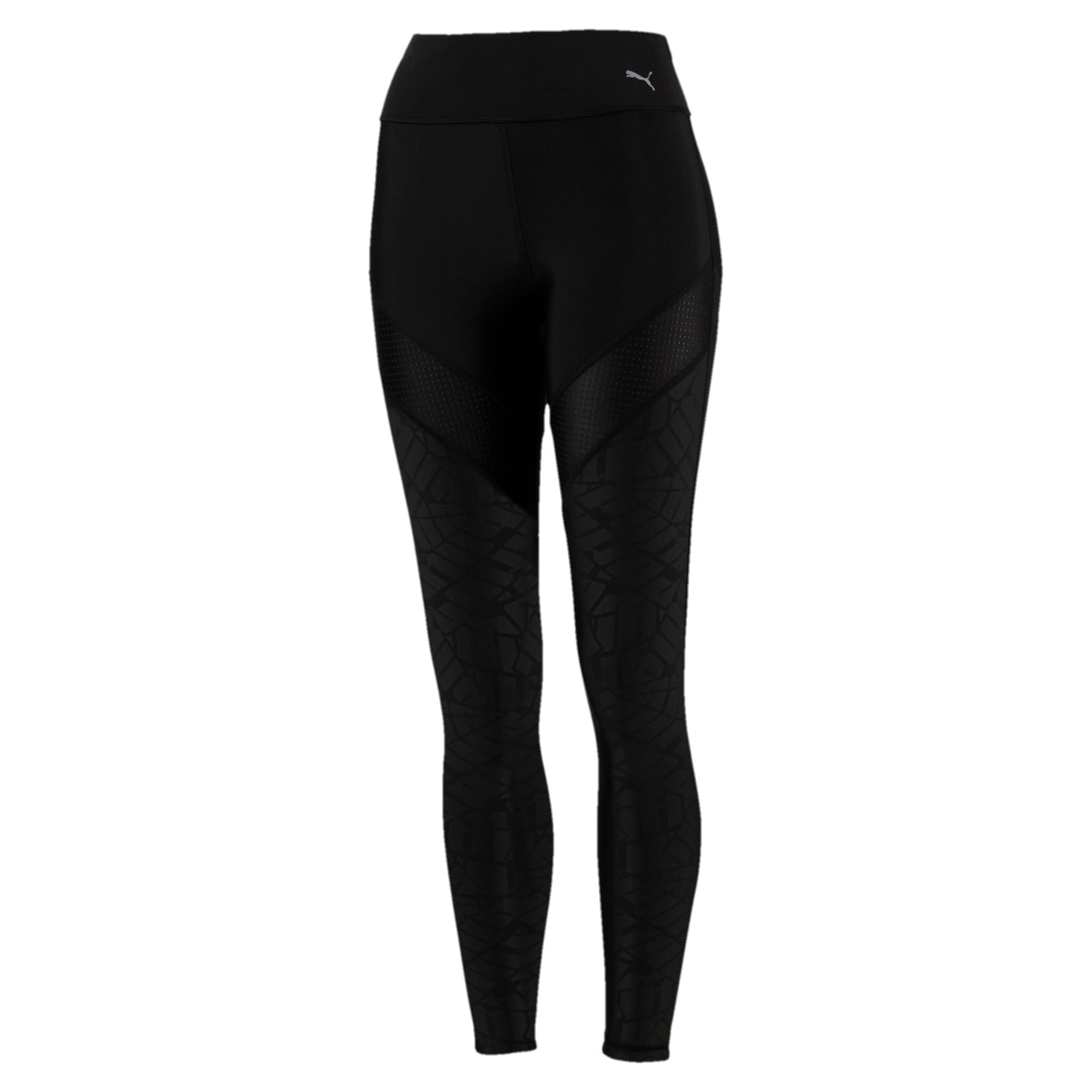 Thumbnail 4 of Pantalon de sport Show Off Training pour femme, Puma Black-AOP, medium