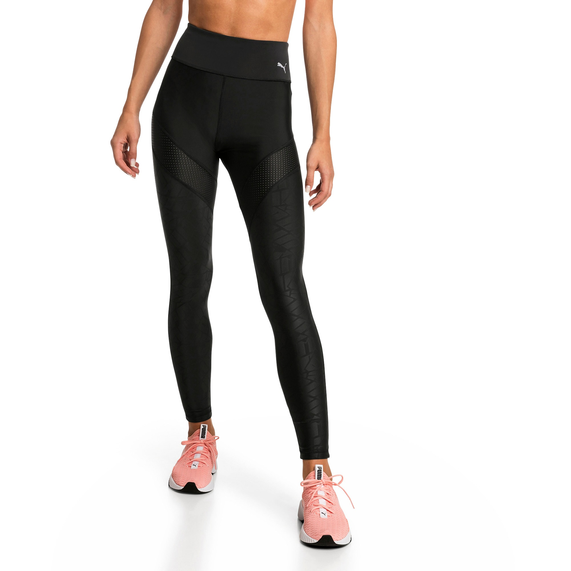 Thumbnail 1 of Pantalon de sport Show Off Training pour femme, Puma Black-AOP, medium