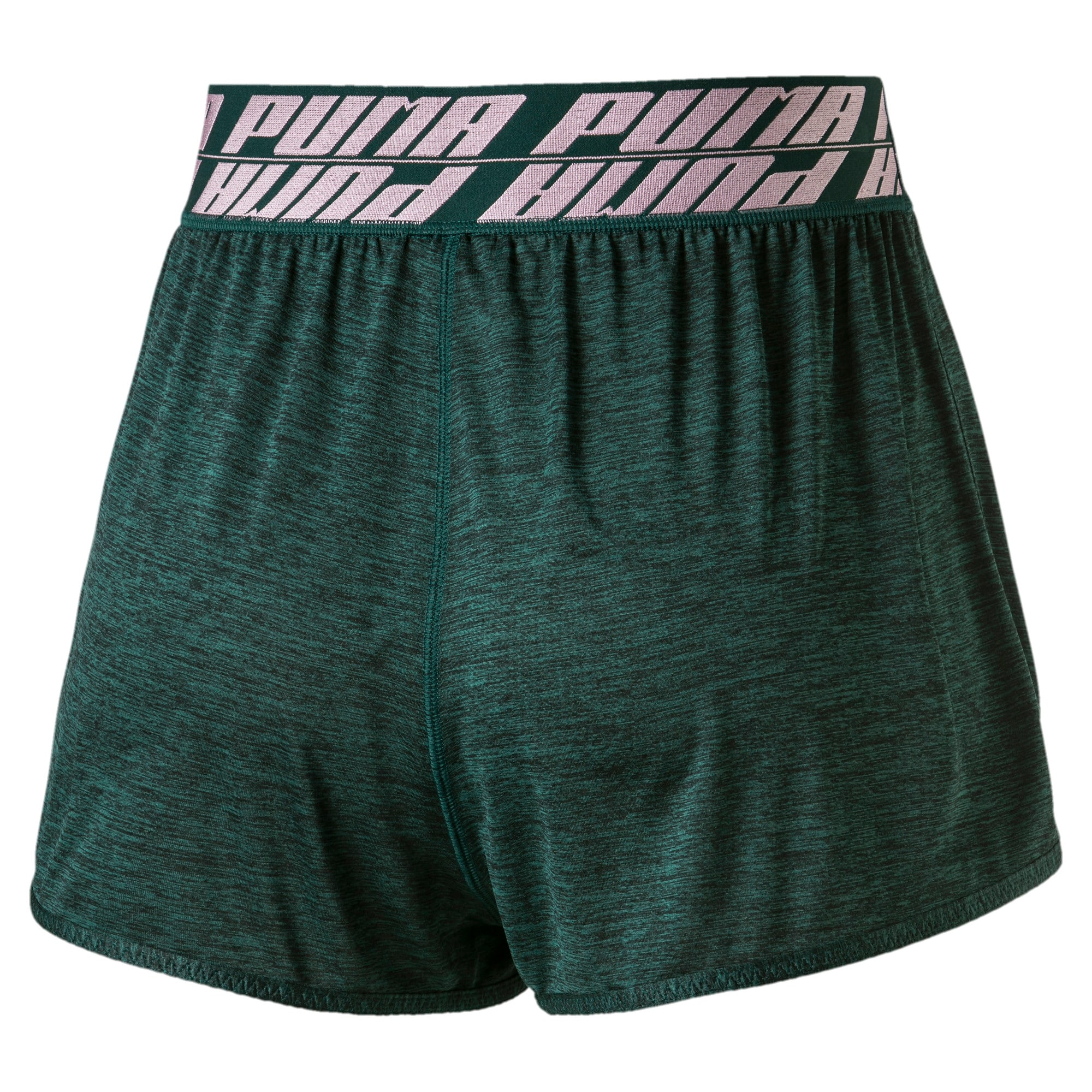 Thumbnail 5 of Own It Women's Training Shorts, Ponderosa Pine Heather, medium