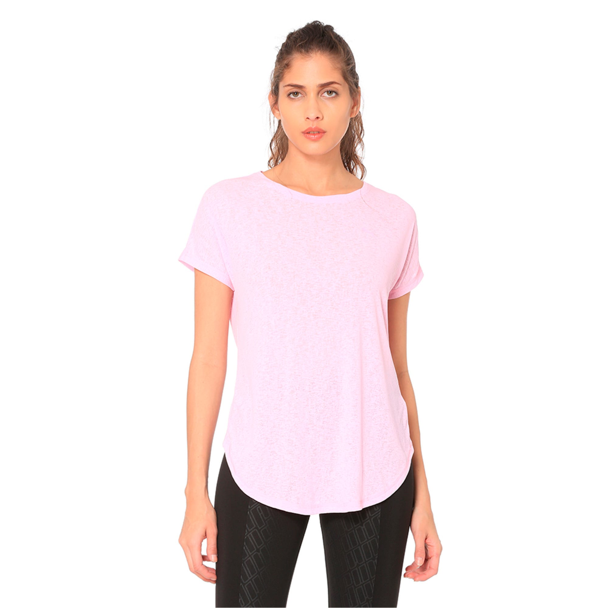 Thumbnail 1 of Bold Women's Tee, Pale Pink, medium-IND