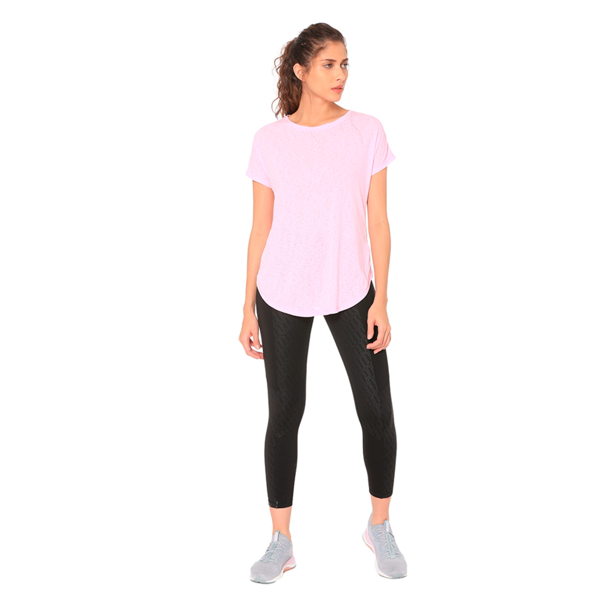 Thumbnail 2 of Bold Women's Tee, Pale Pink, medium-IND