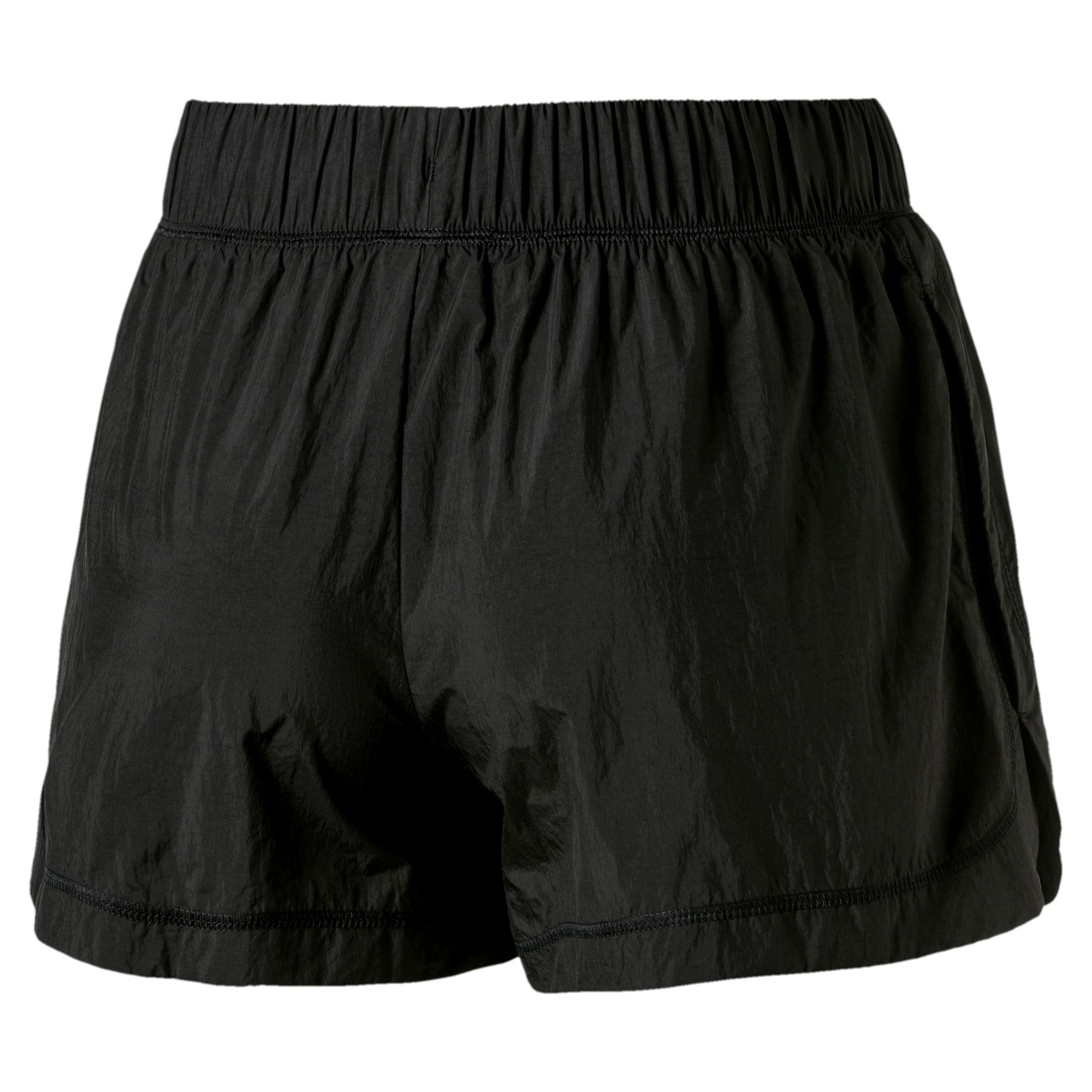 Thumbnail 2 of Bold Woven Women's Training Shorts, Puma Black, medium-SEA