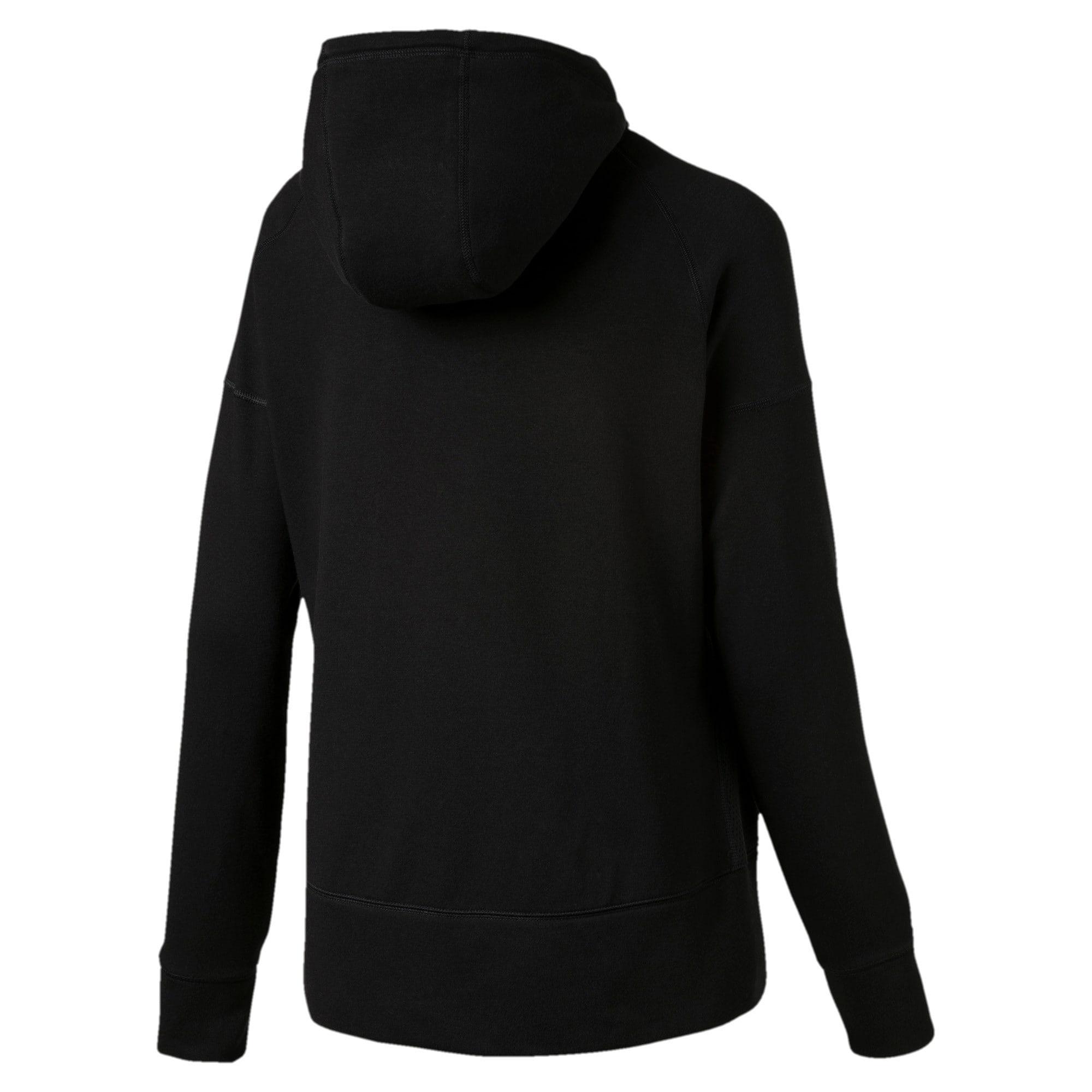 Thumbnail 5 of Yogini Knitted Full Zip Women's Track Jacket, Cotton Black, medium-IND
