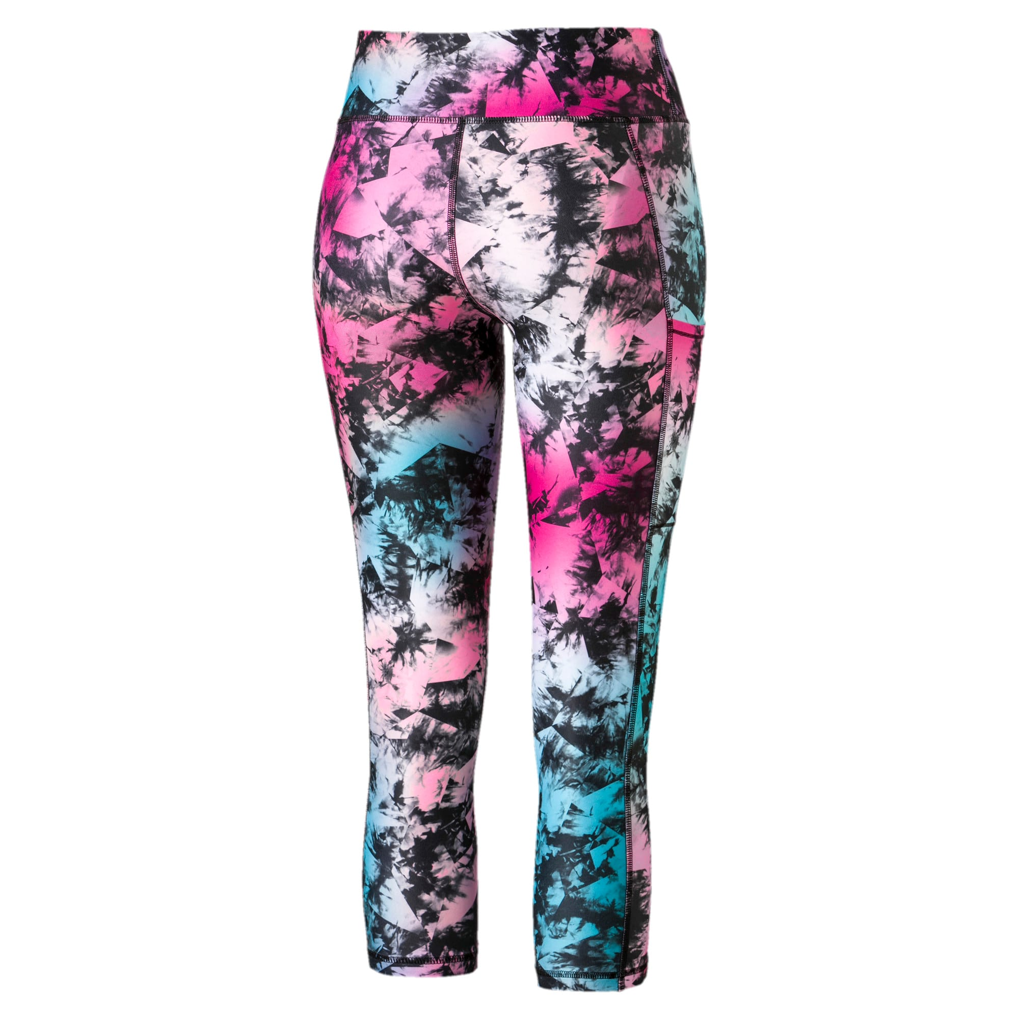 Thumbnail 5 of Stand Out Women's Training Leggings, puma black-Multi color, medium-IND