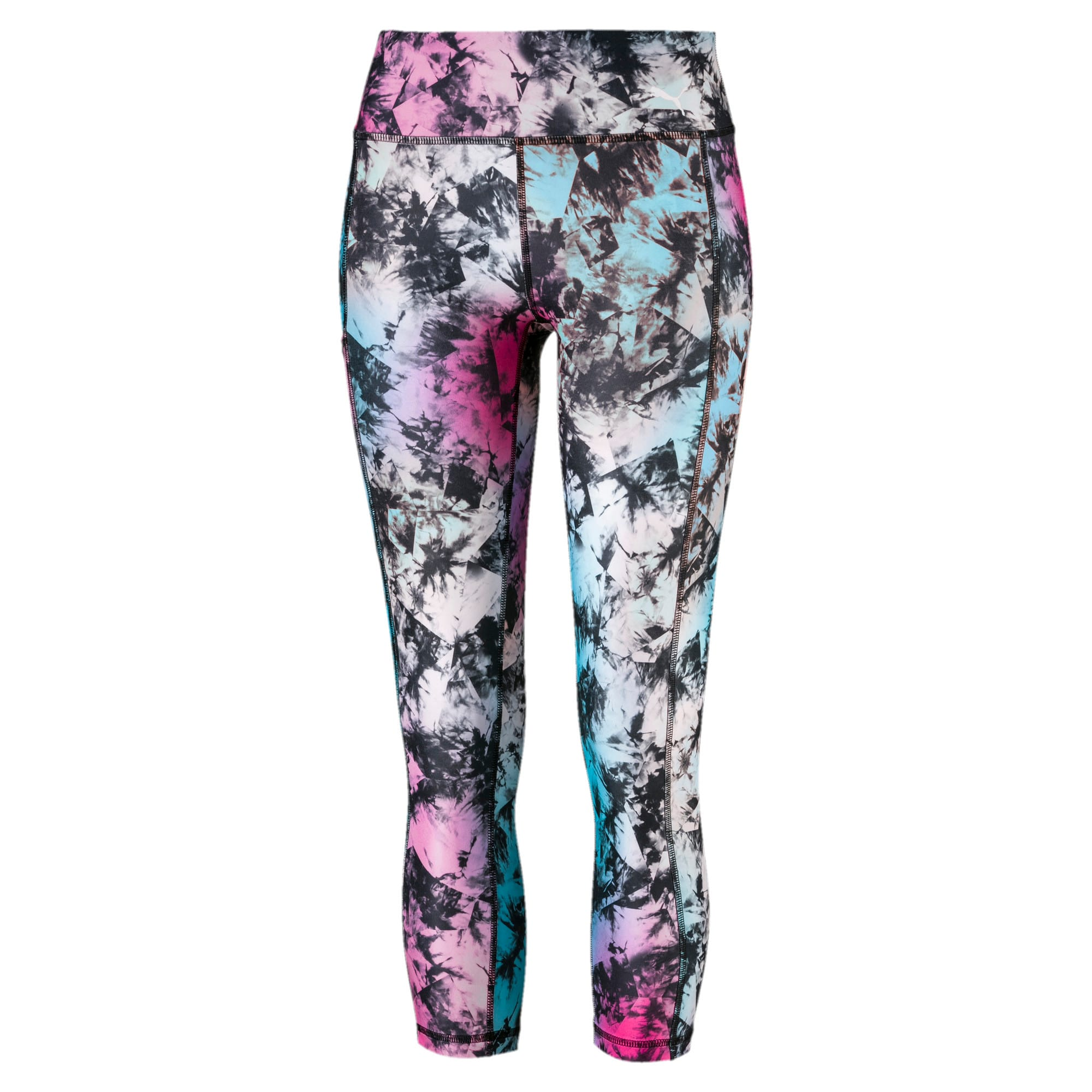 Thumbnail 4 of Stand Out Women's Training Leggings, puma black-Multi color, medium-IND