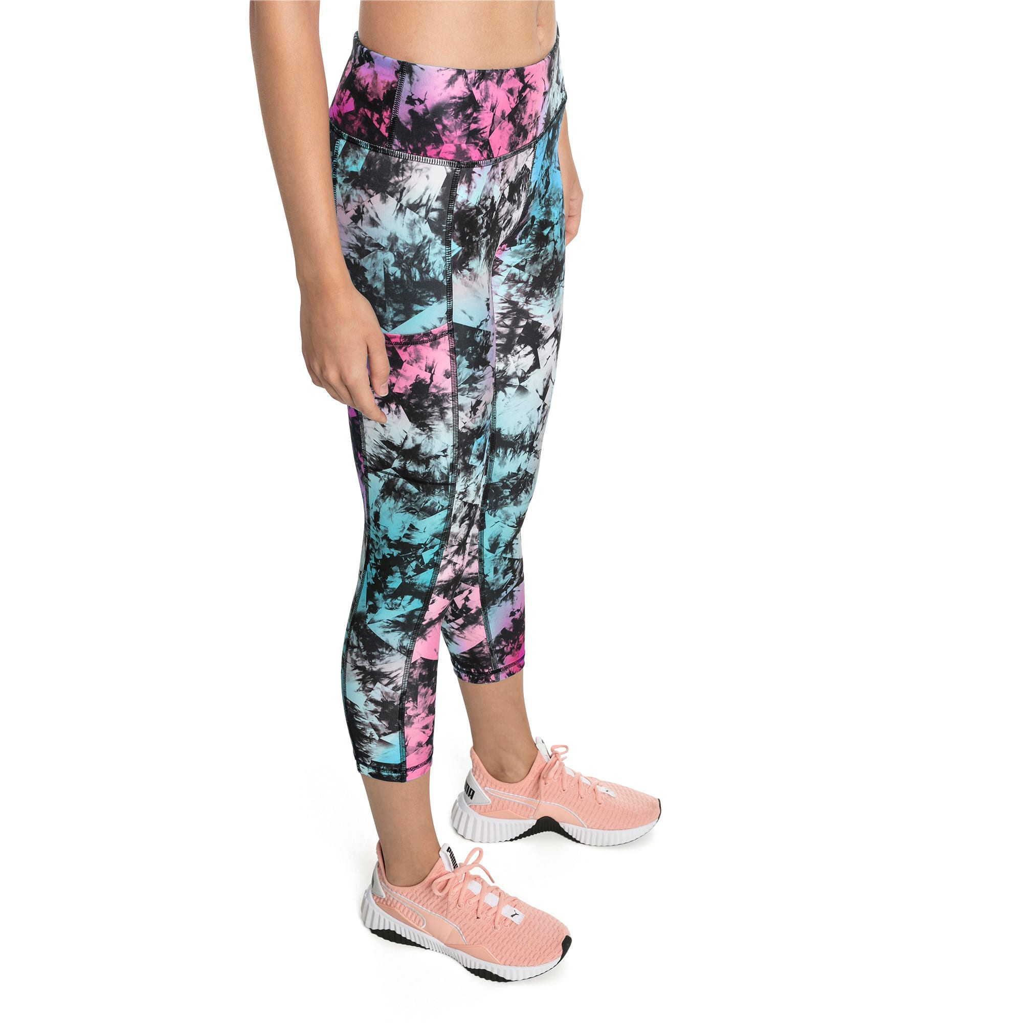 Thumbnail 1 of Stand Out Women's Training Leggings, puma black-Multi color, medium-IND