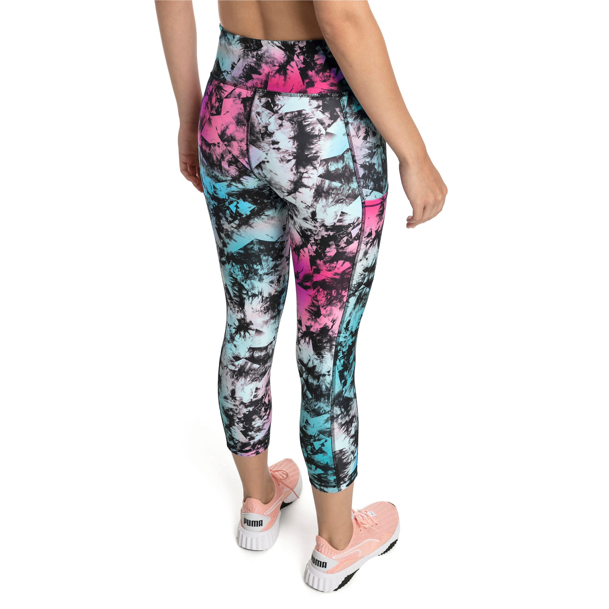 Thumbnail 2 of Stand Out Women's Training Leggings, puma black-Multi color, medium-IND