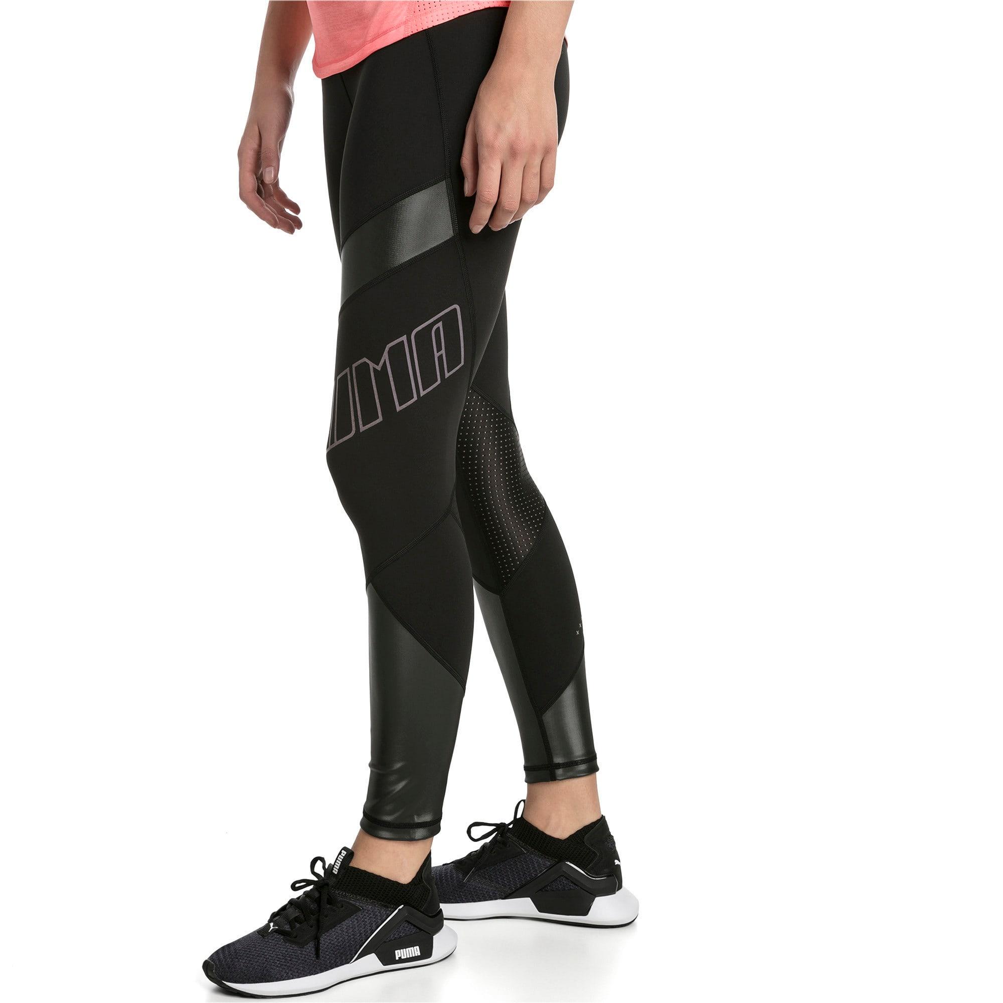Thumbnail 1 of Elite Women's Running Leggings, Puma Black, medium-IND