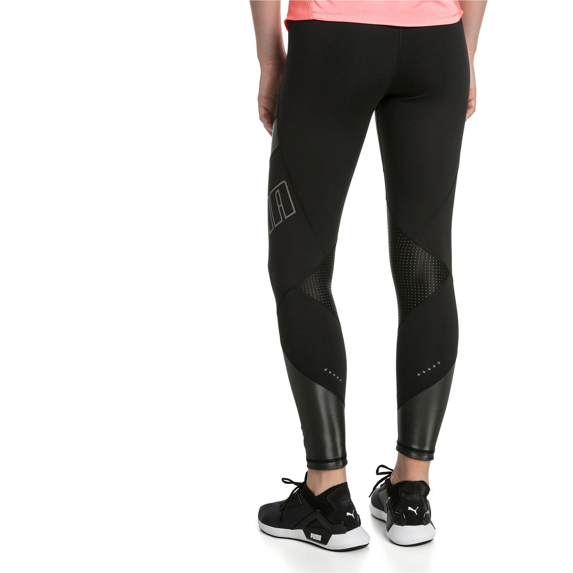 Thumbnail 2 of Elite Women's Running Leggings, Puma Black, medium-IND
