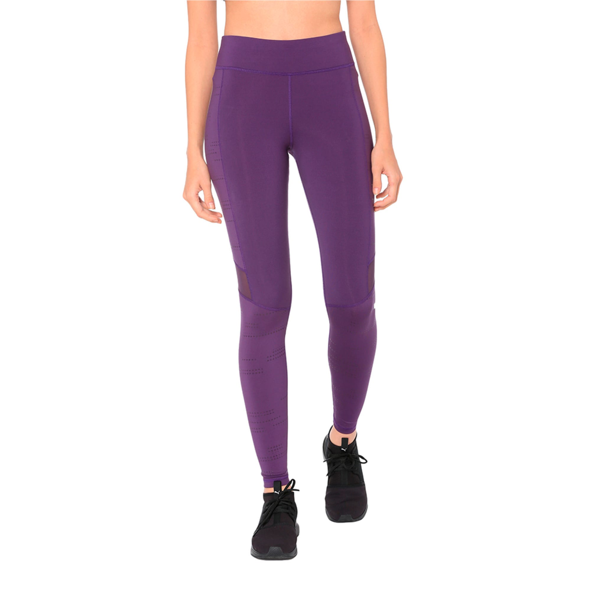 Thumbnail 1 of Ignite Women's Running Leggings, Indigo, medium-IND