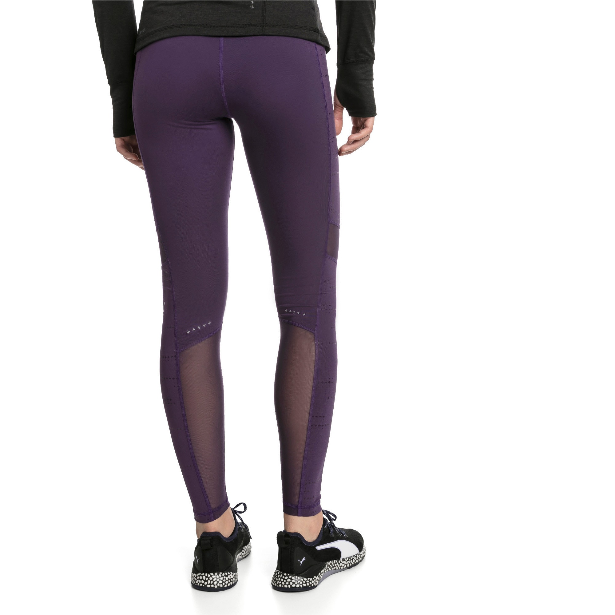 Thumbnail 2 of Ignite Women's Running Leggings, Indigo, medium-IND