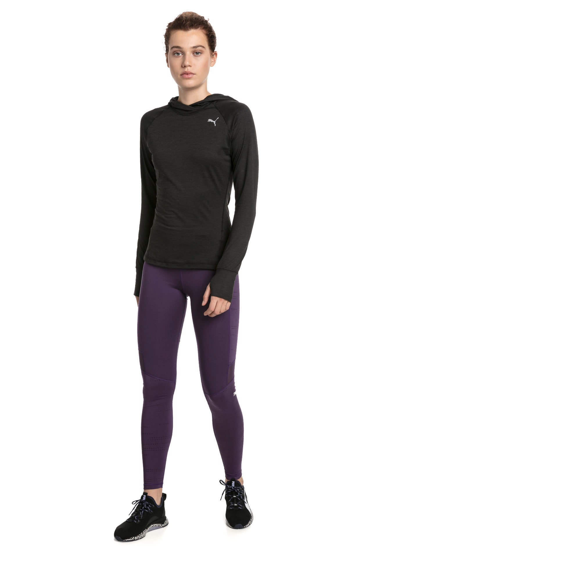 Thumbnail 4 of Ignite Women's Running Leggings, Indigo, medium-IND