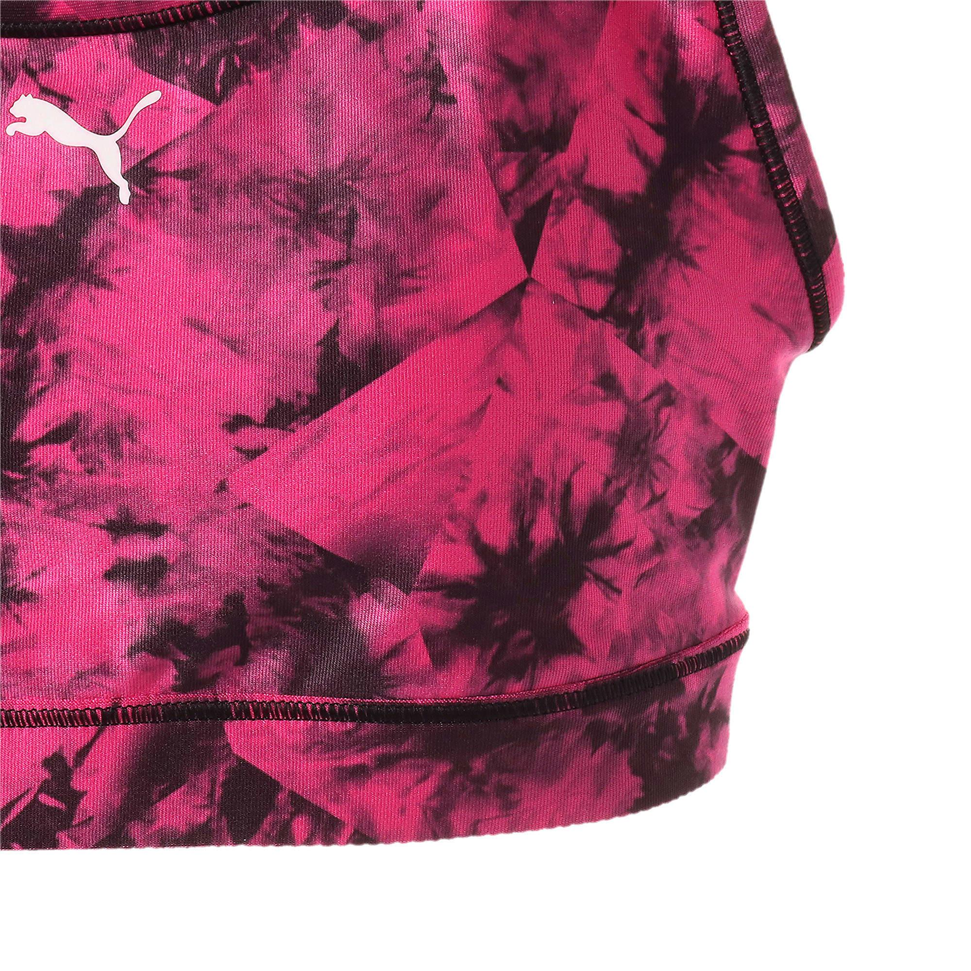 Thumbnail 6 of A.C.E. 4キープ グラフィック ウィメンズ ブラトップ ミディアムサポート, fuchsia purple-puma black, medium-JPN