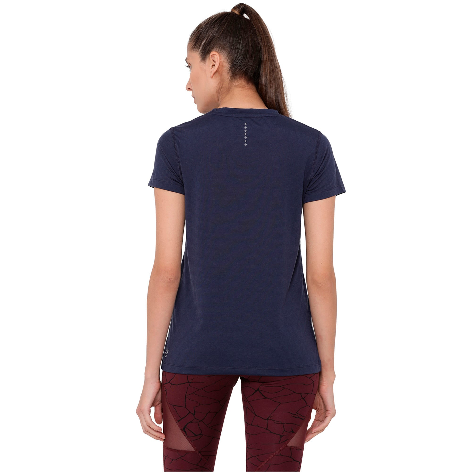 S/S Tee W, Peacoat, large-IND
