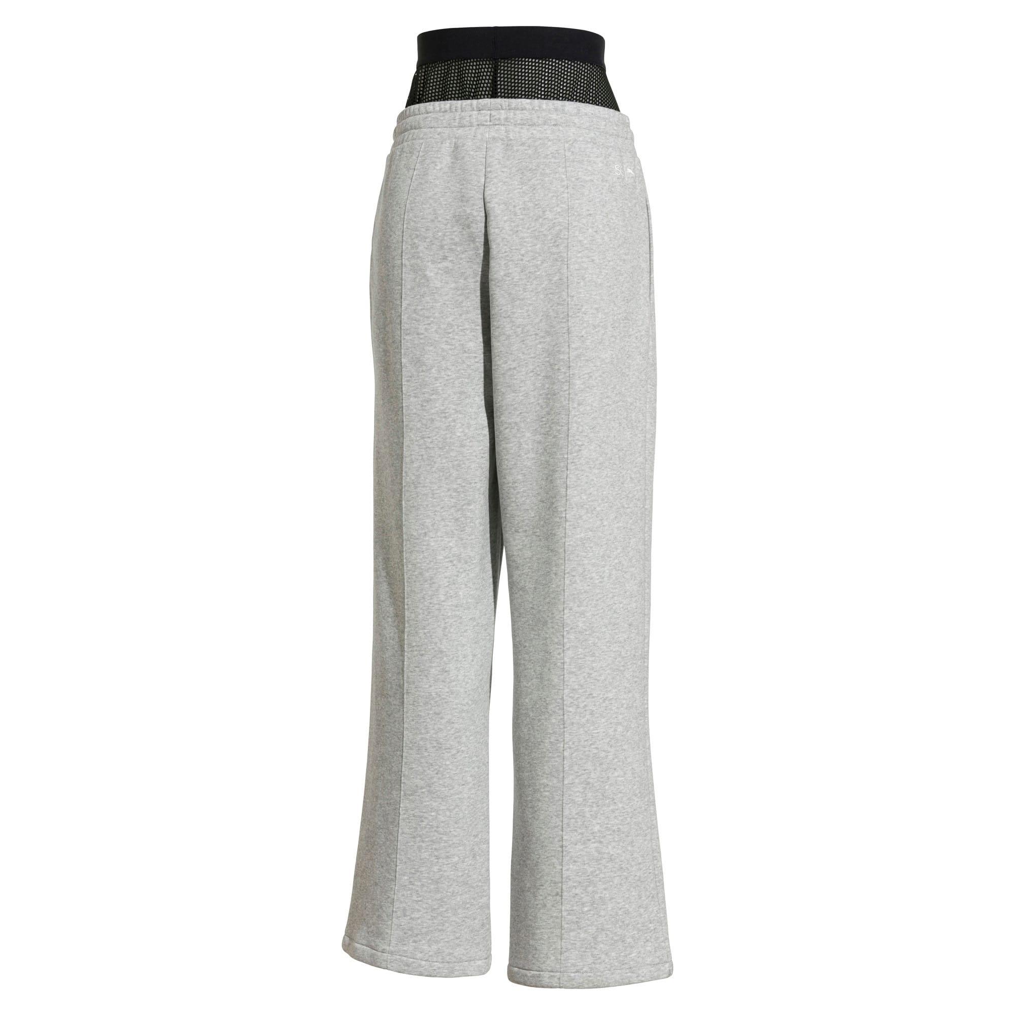 Thumbnail 4 van PUMA x SELENA GOMEZ Gebreide sweaterbroek voor vrouwen, Light Gray Heather, medium