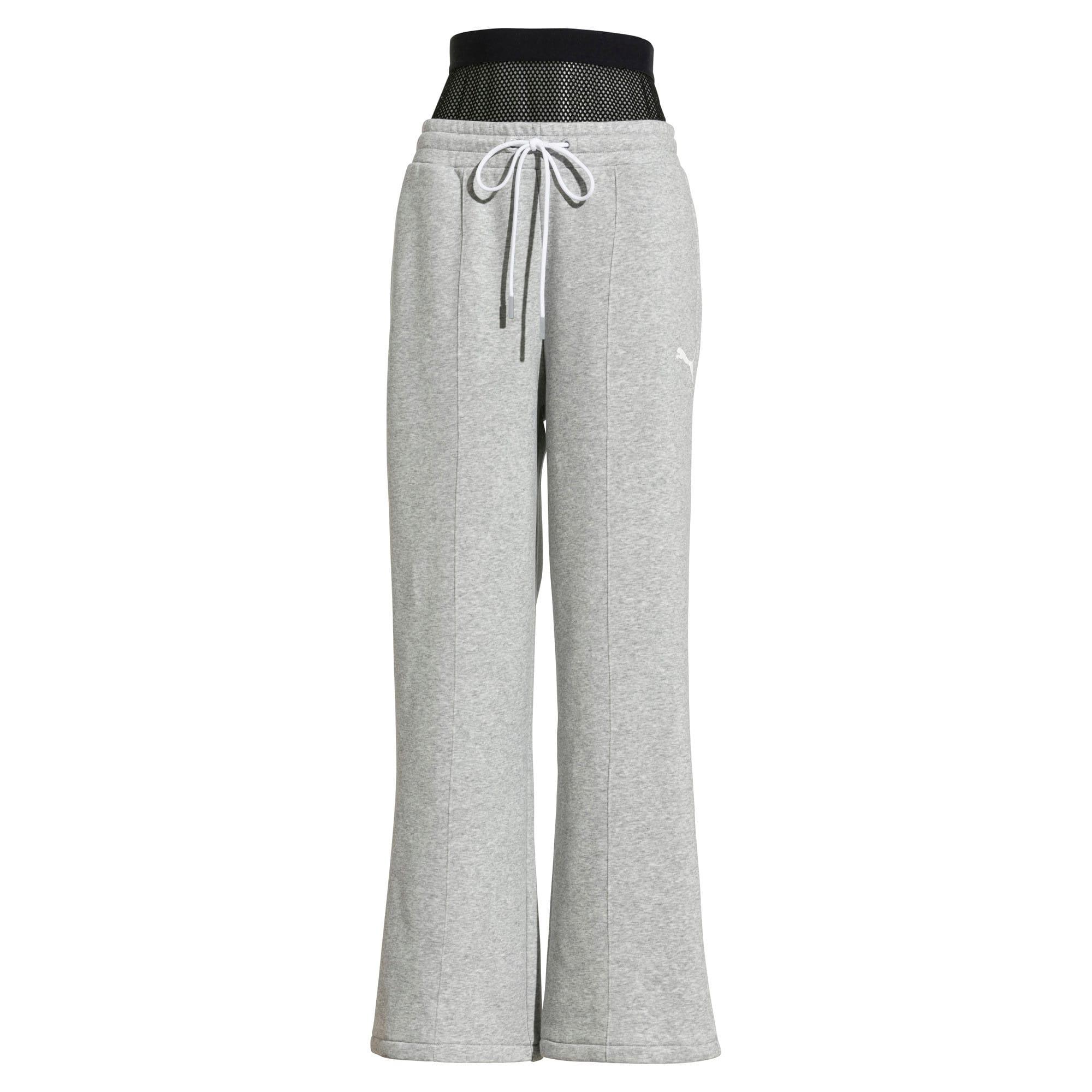 Thumbnail 1 van PUMA x SELENA GOMEZ Gebreide sweaterbroek voor vrouwen, Light Gray Heather, medium