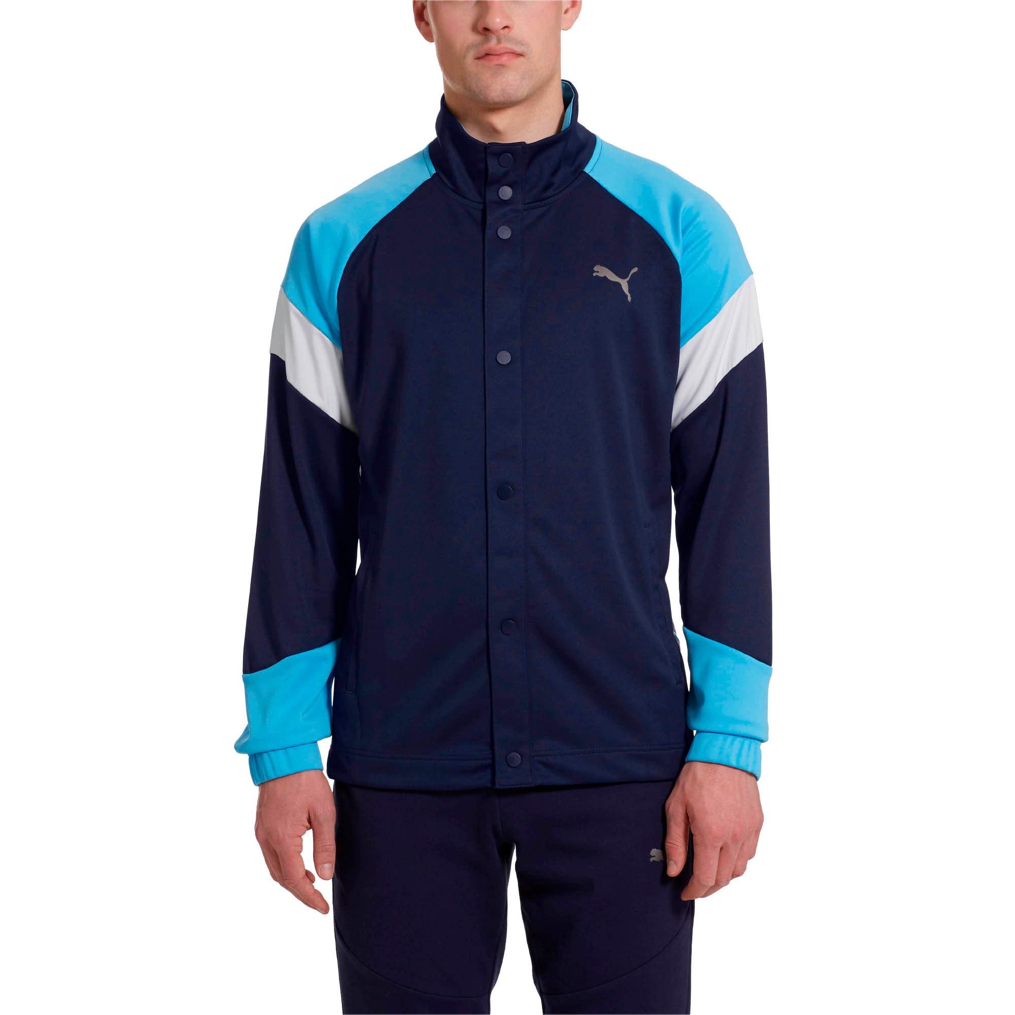 Thumbnail 2 of A.C.E. Men's Track Jacket, Peacoat-Bonnie Blue, medium
