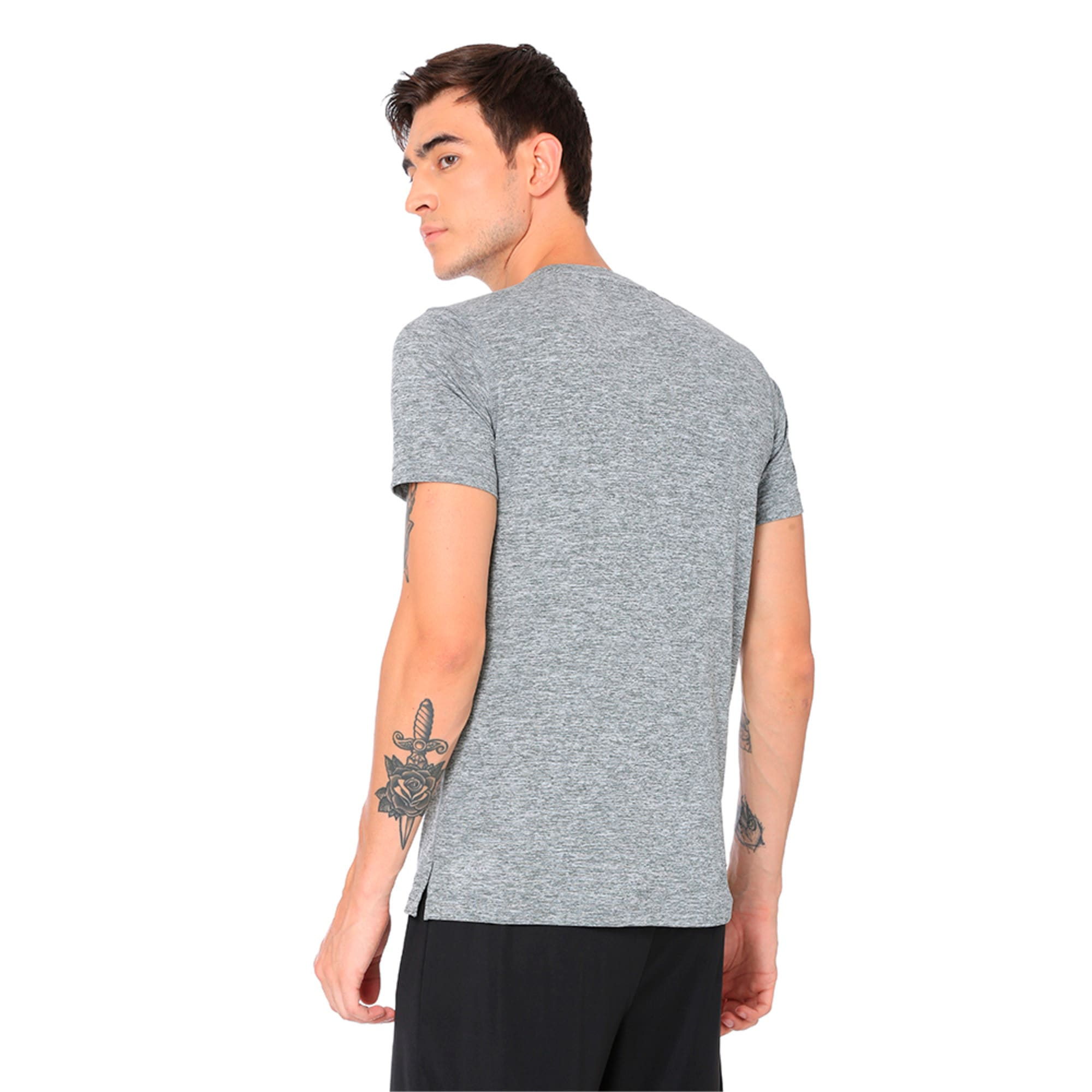 Thumbnail 5 of Ignite Heather Tee, Medium Gray Heather, medium-IND