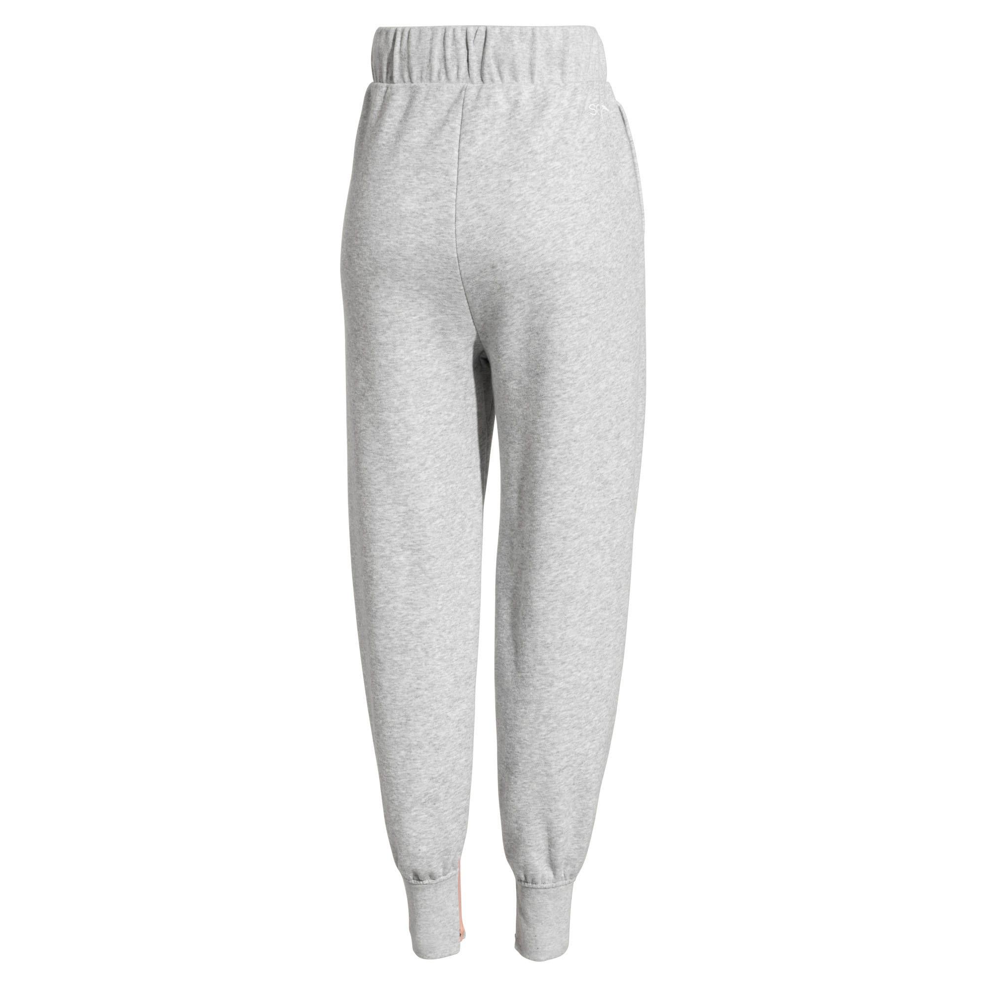 Thumbnail 5 van PUMA x SELENA GOMEZ sweatpants voor vrouwen, Light Gray Heather, medium