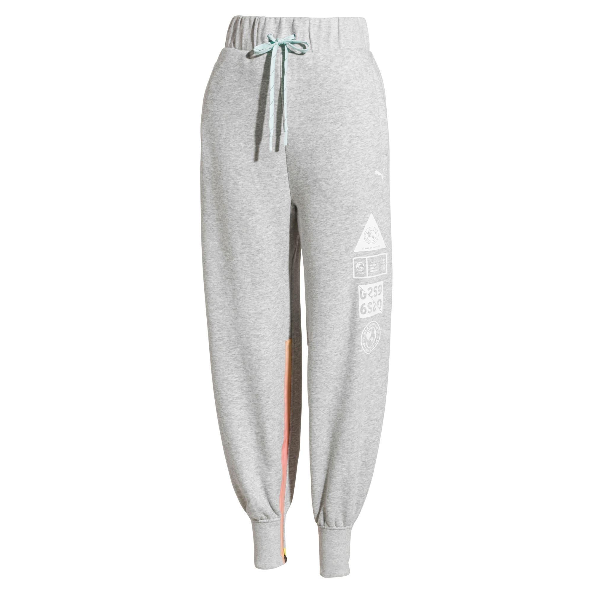 Thumbnail 4 van PUMA x SELENA GOMEZ sweatpants voor vrouwen, Light Gray Heather, medium