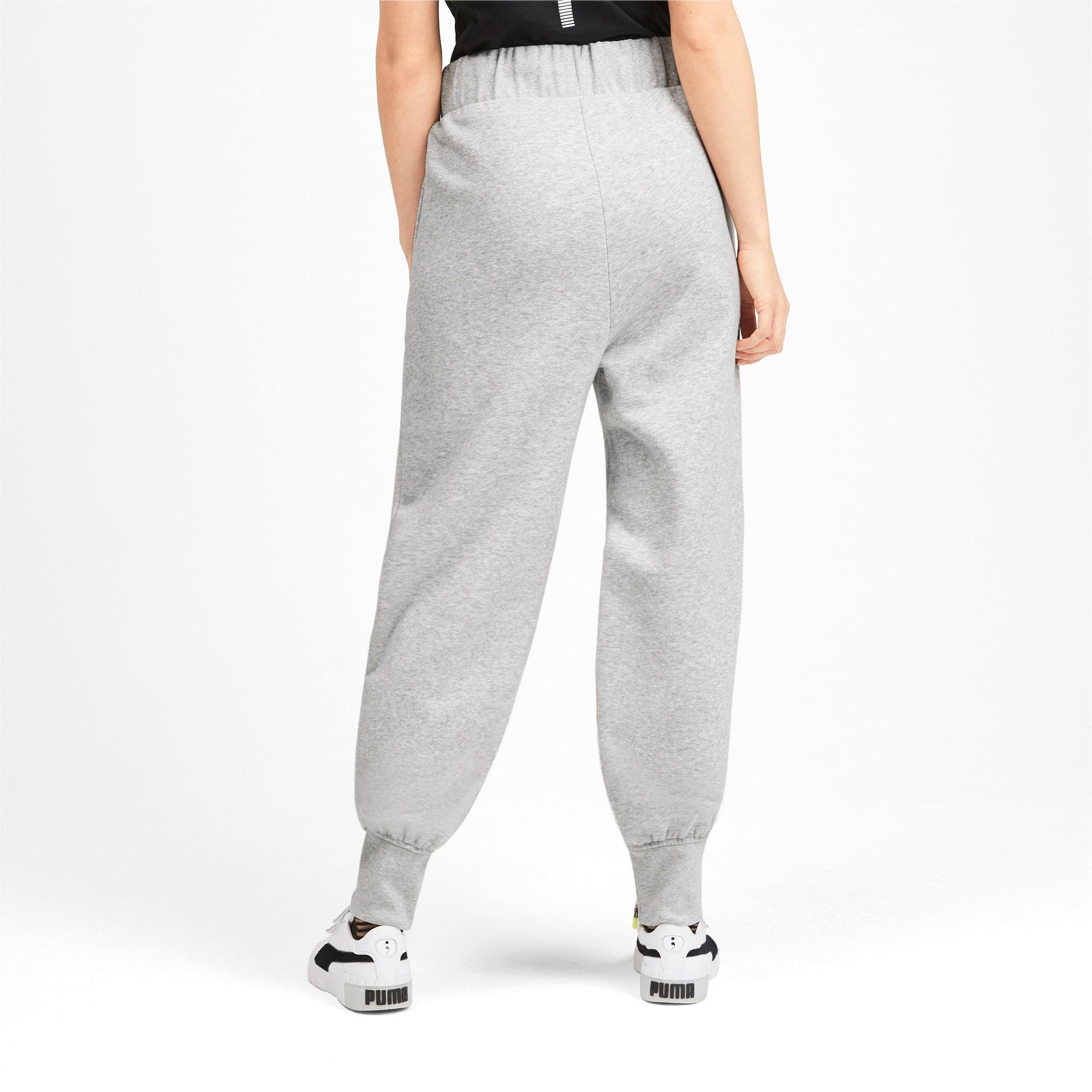 Thumbnail 2 van PUMA x SELENA GOMEZ sweatpants voor vrouwen, Light Gray Heather, medium