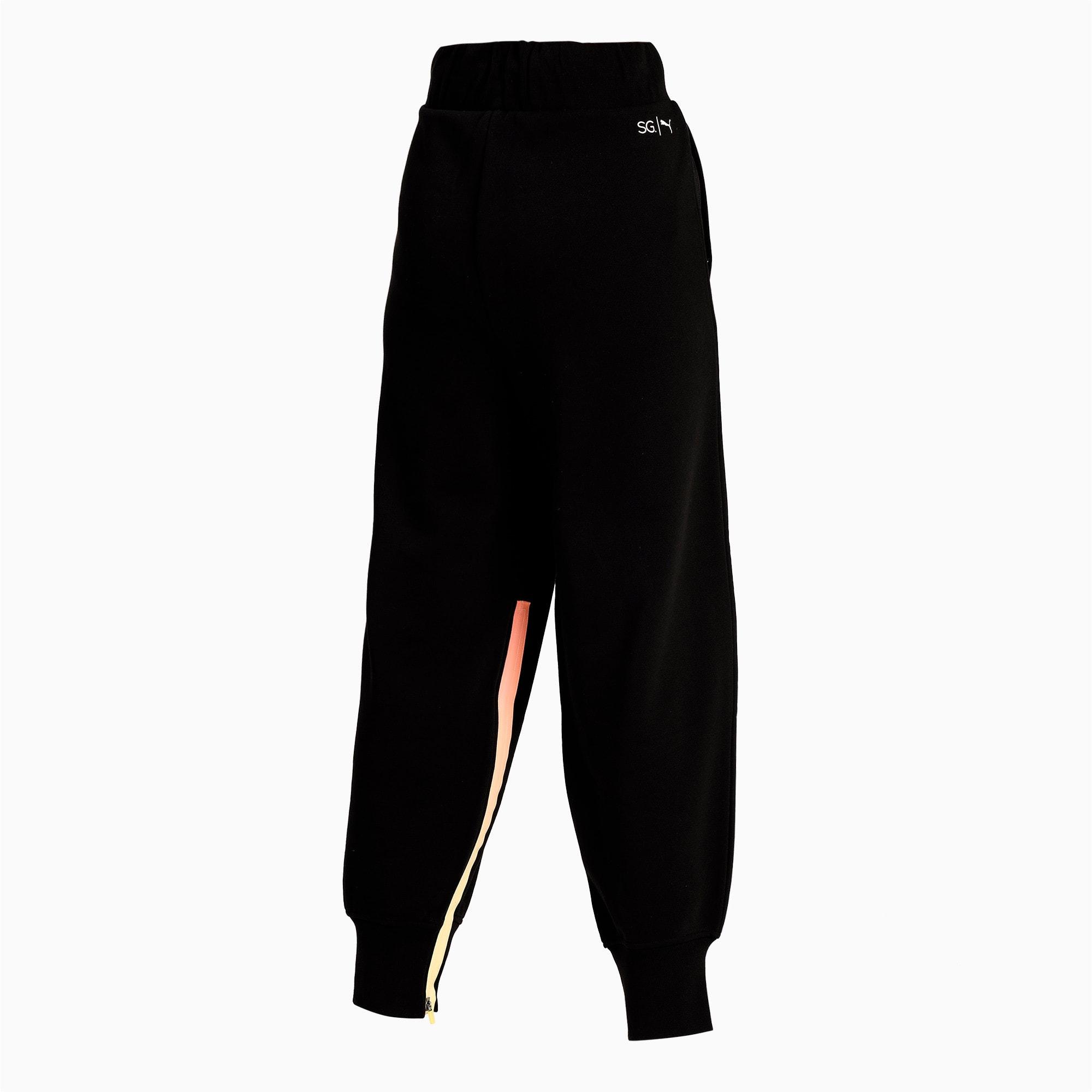 Thumbnail 5 of PUMA x SELENA GOMEZ Women's Sweatpants, Puma Black, medium-IND