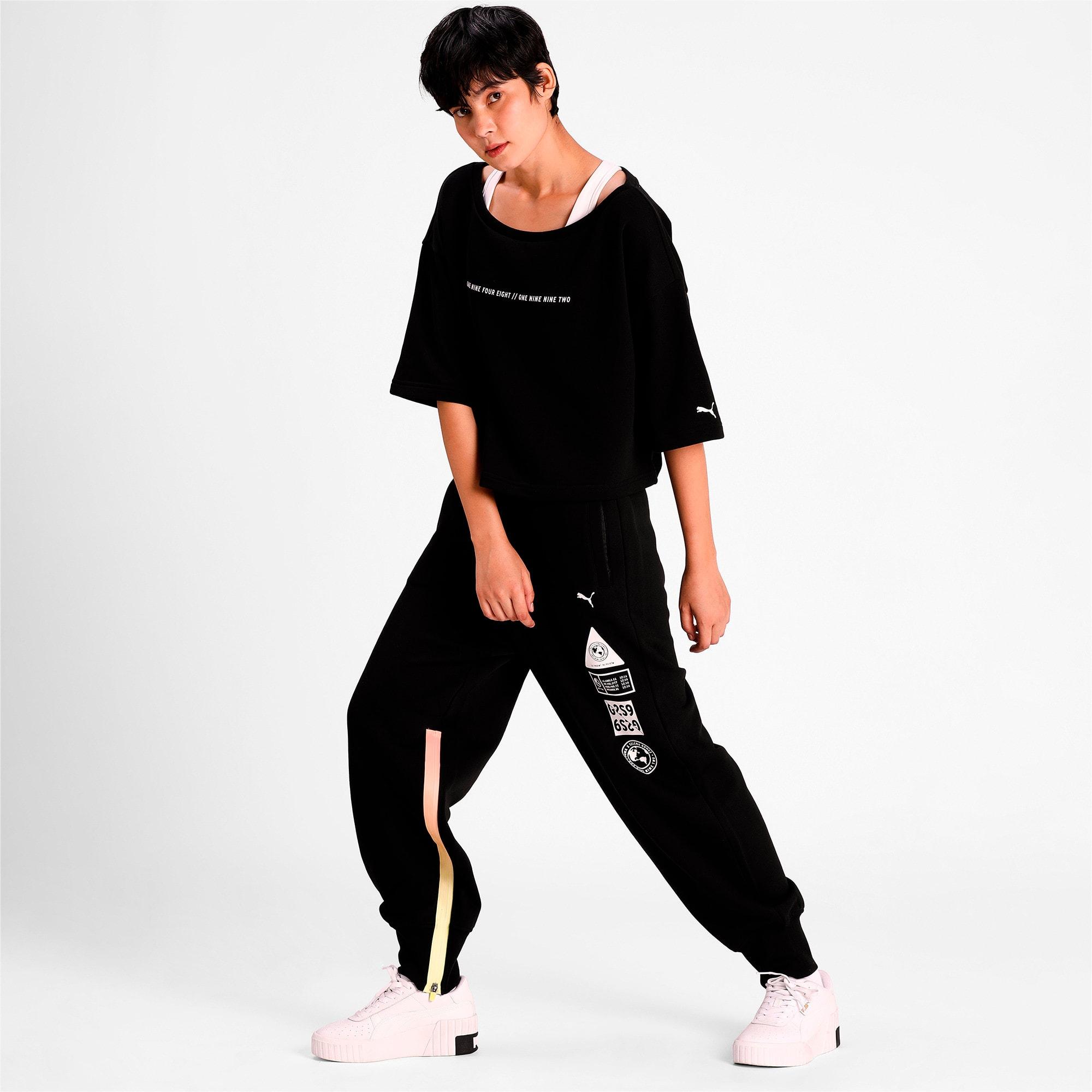 Thumbnail 3 of PUMA x SELENA GOMEZ Women's Sweatpants, Puma Black, medium-IND