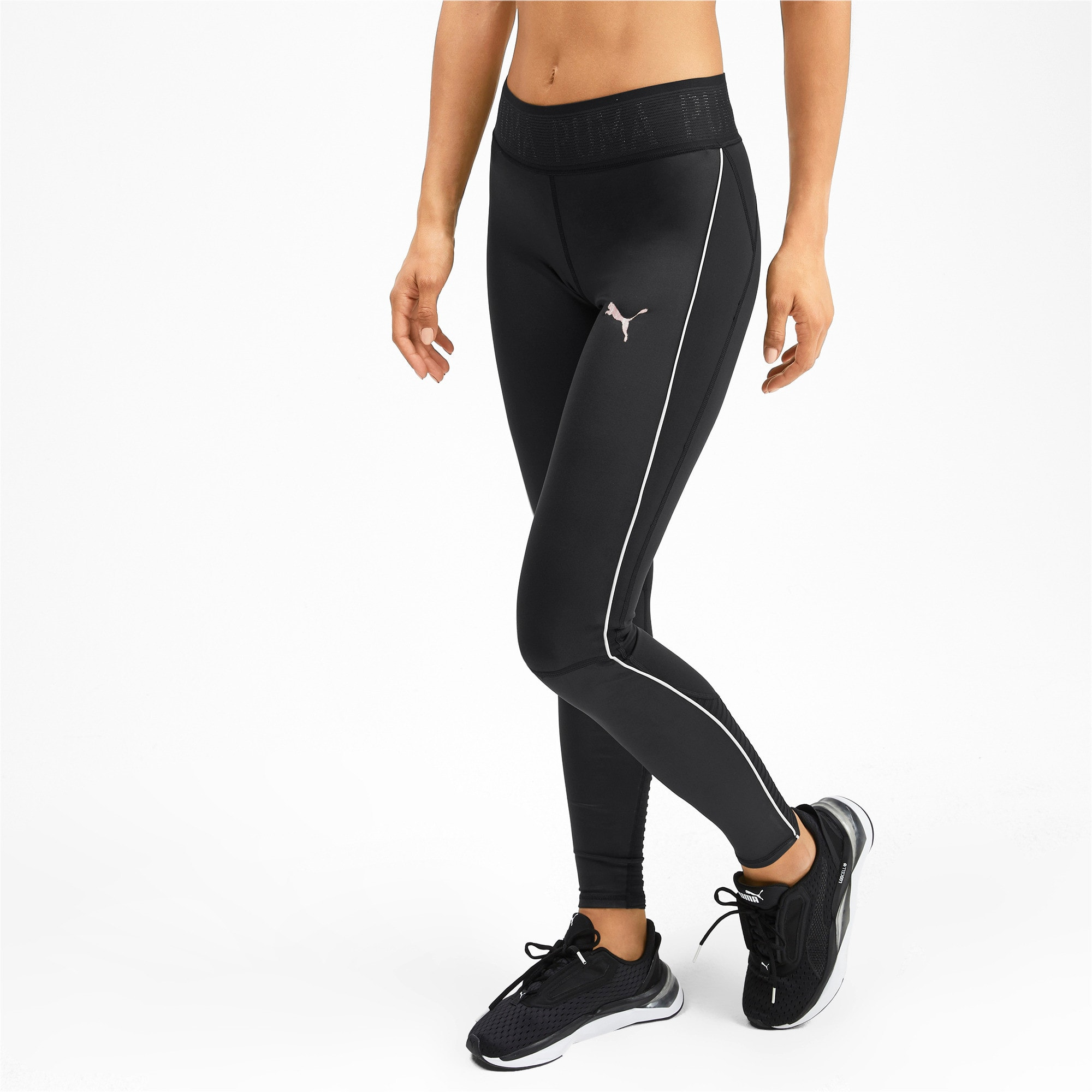 Thumbnail 1 of SHIFT Women's Training Leggings, Puma Black, medium-IND