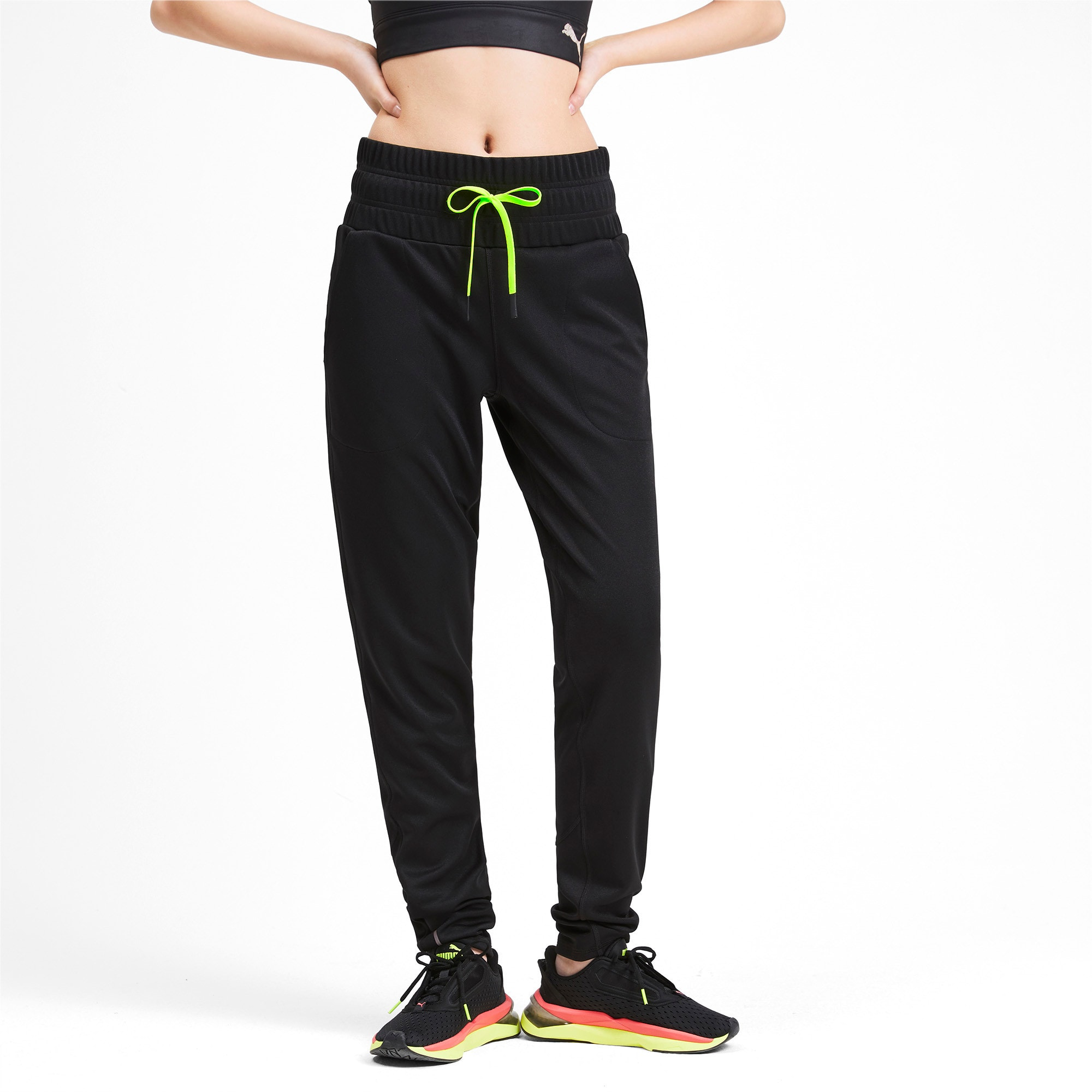 Thumbnail 1 of SHIFT Damen Training Gestrickte Sweatpants, Puma Black, medium
