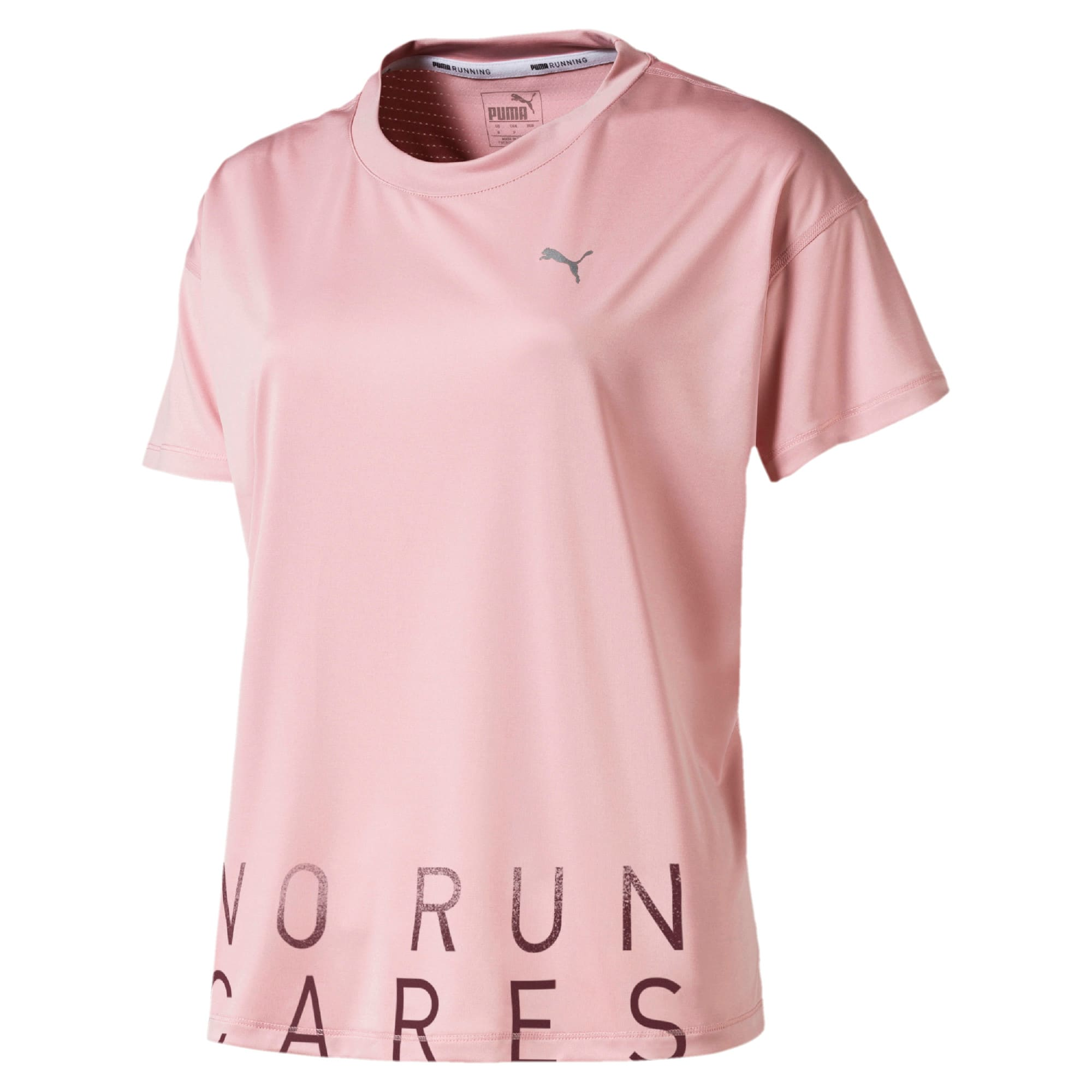 Thumbnail 4 of Last Lap Damen Running T-Shirt, Bridal Rose-Slogan, medium