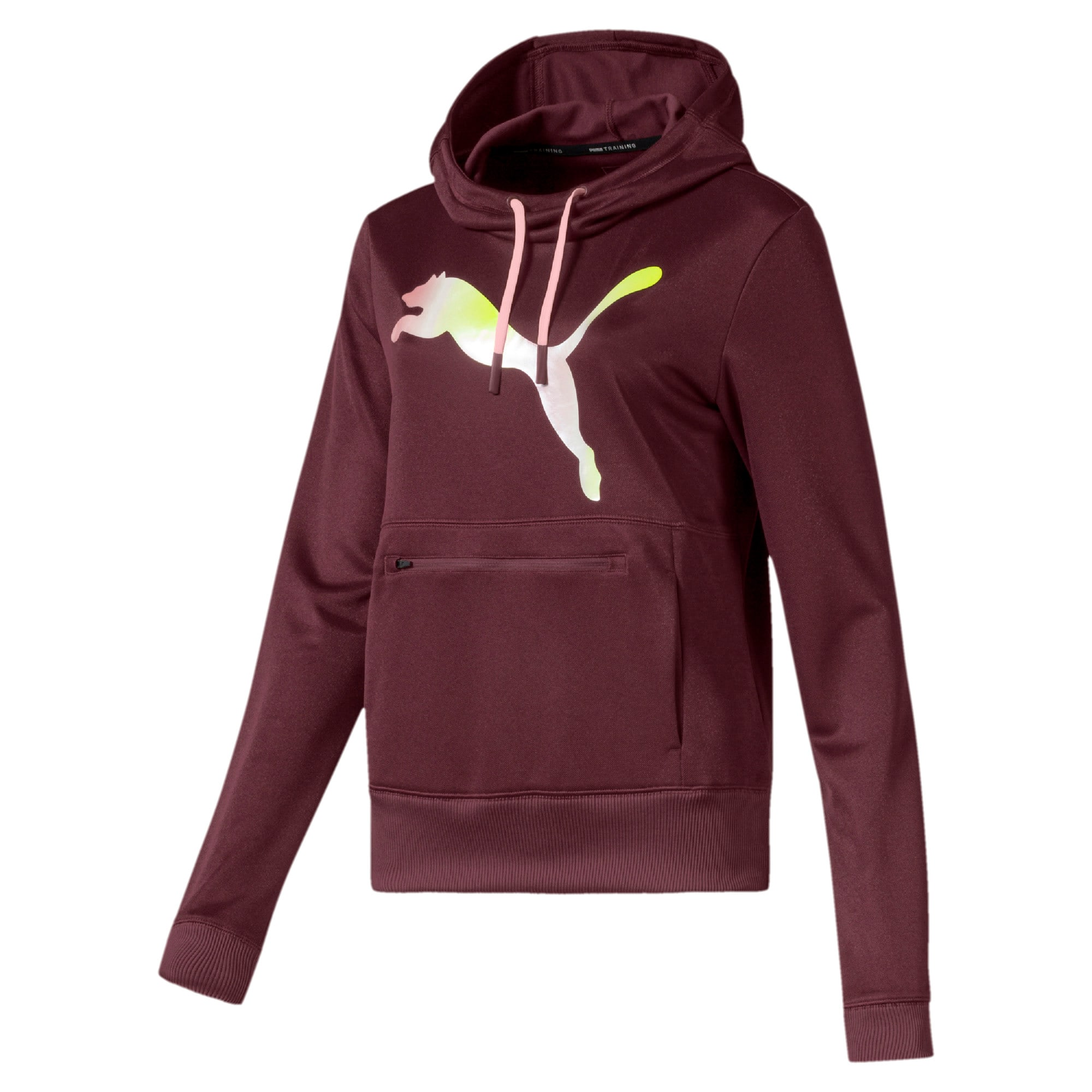 Thumbnail 4 of SHIFT Women's Training Hoodie, Vineyard Wine, medium